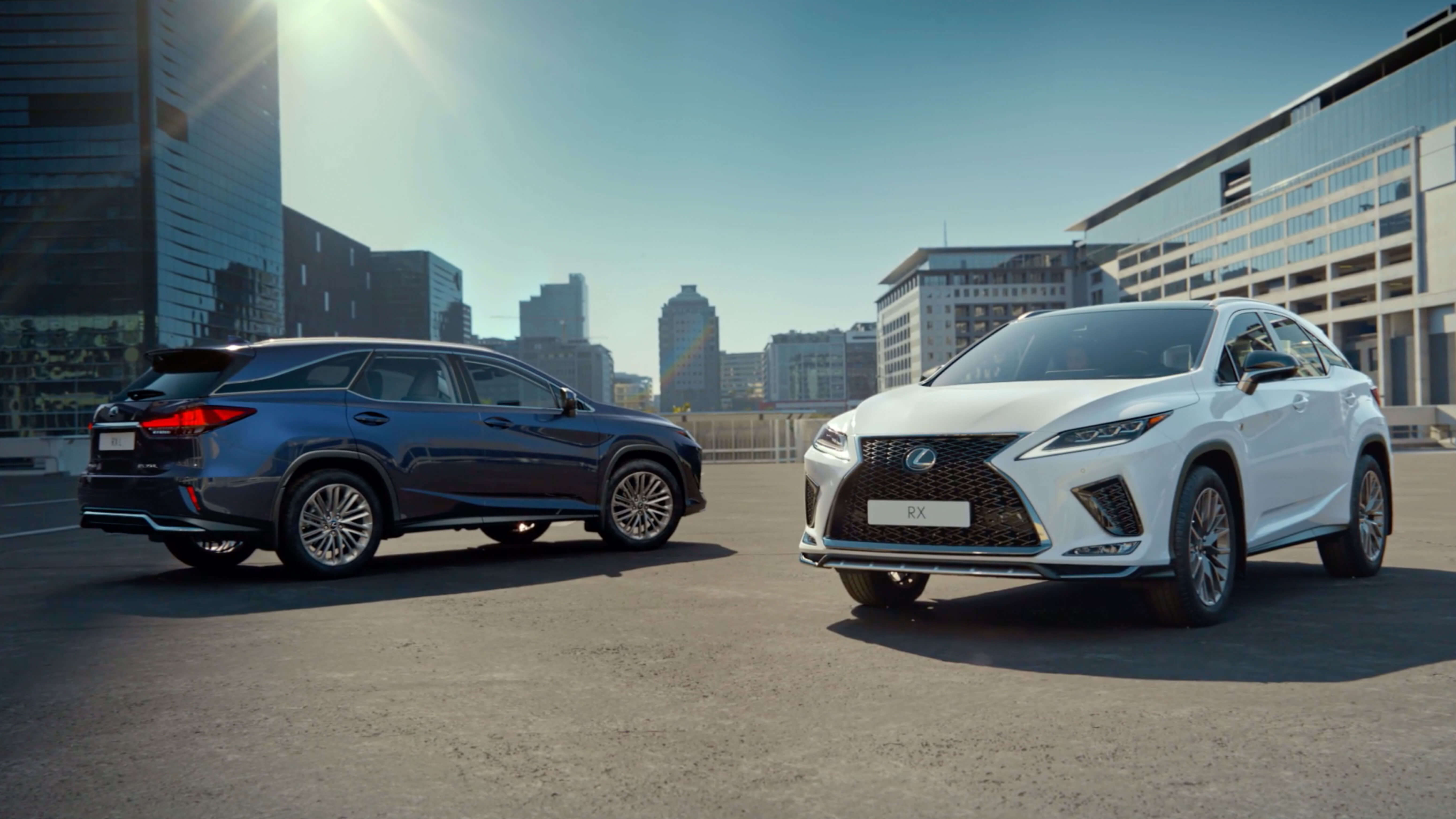2019 lexus rx petrol video still