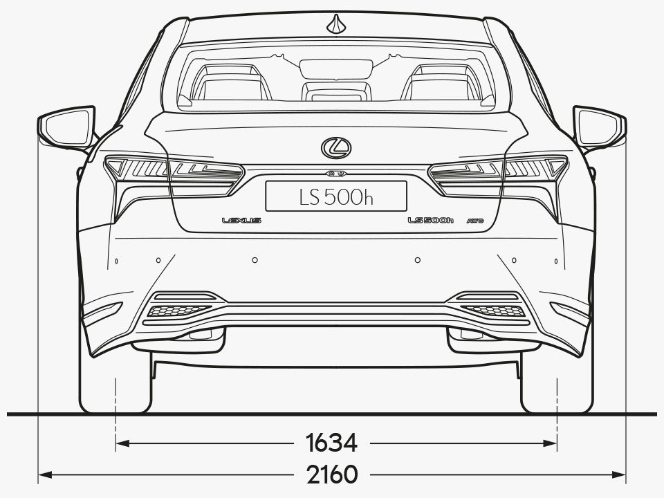 LS Rear Dimensions Image