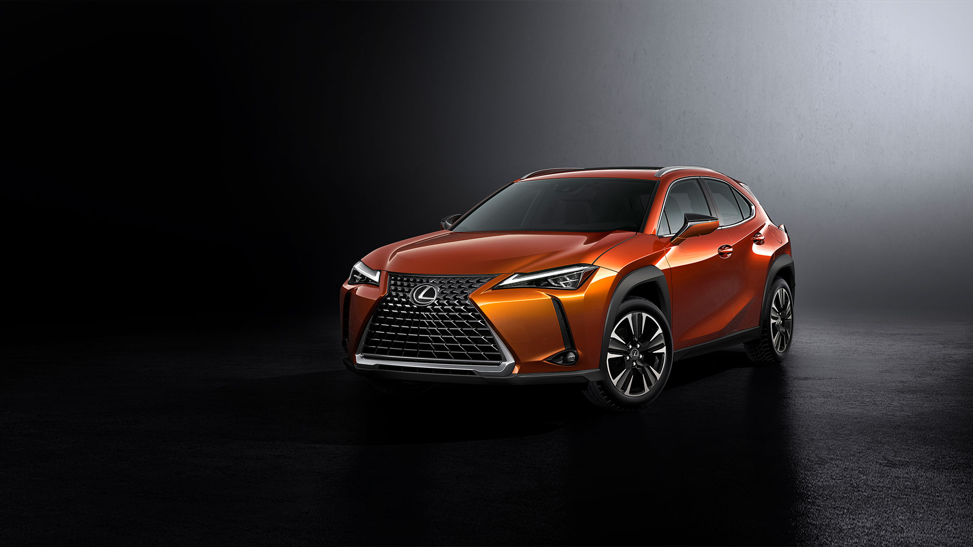 2018 lexus ux interactive design colour blazing carnelian product