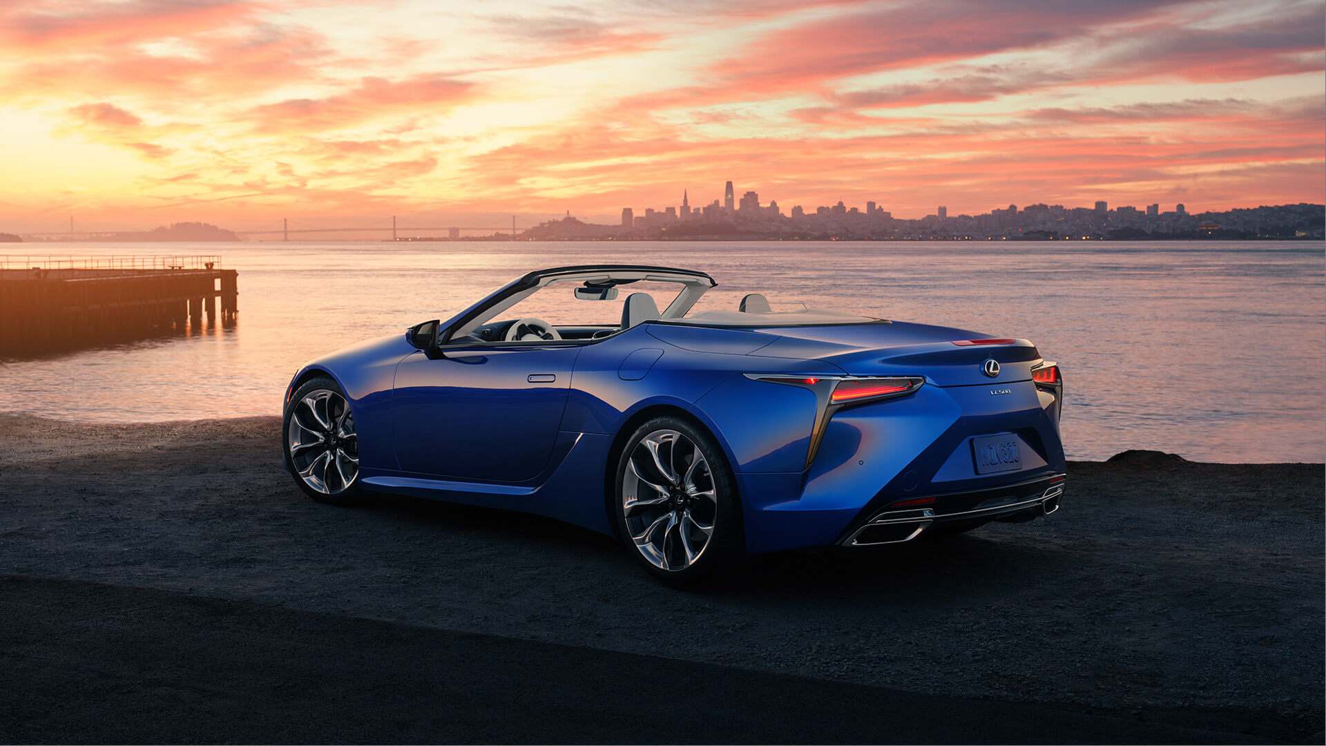 2 lexus lc convertible hero
