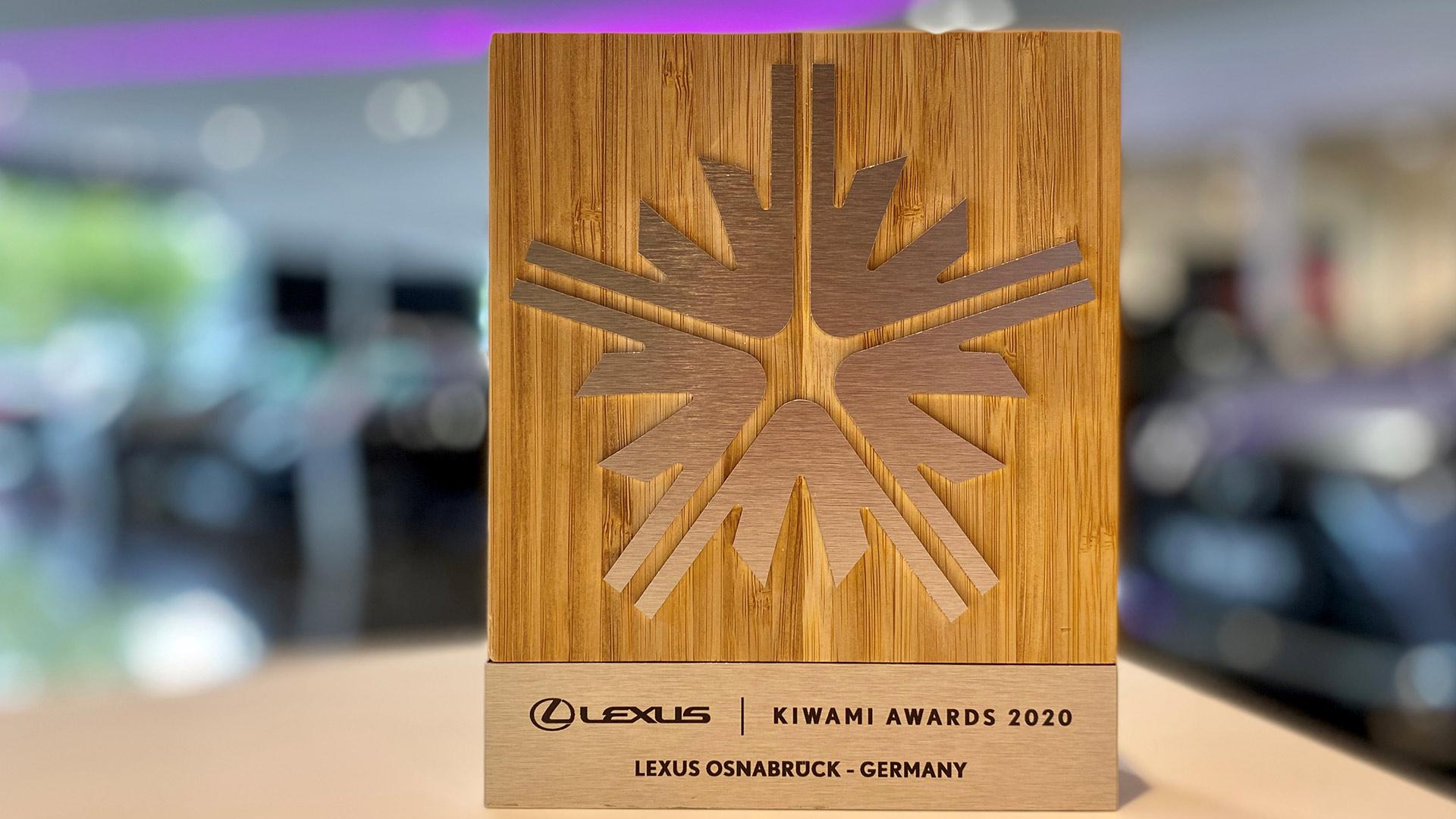 Lexus Kiwami Award