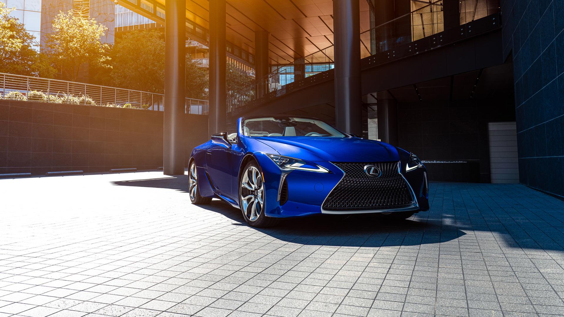 Lexus LC exterieur