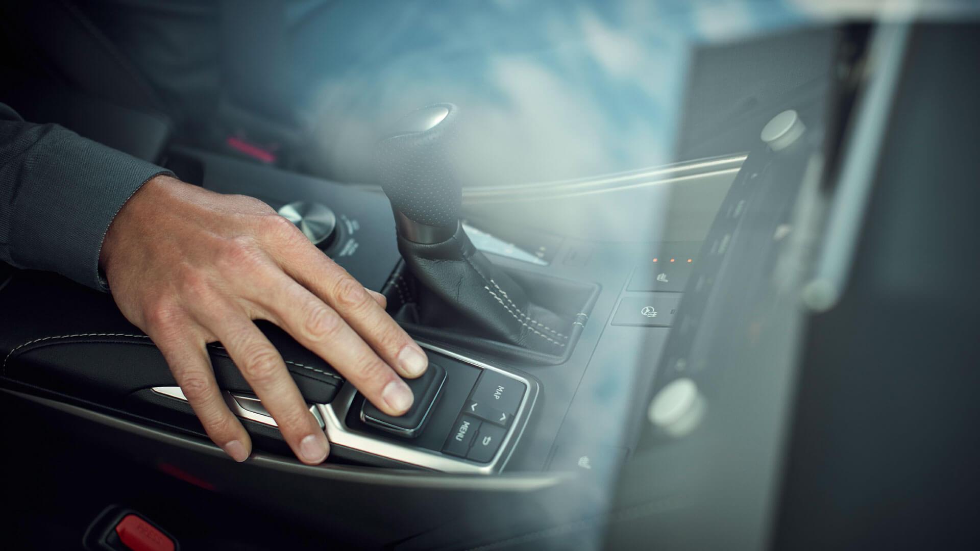 Lexus IS Touchpad