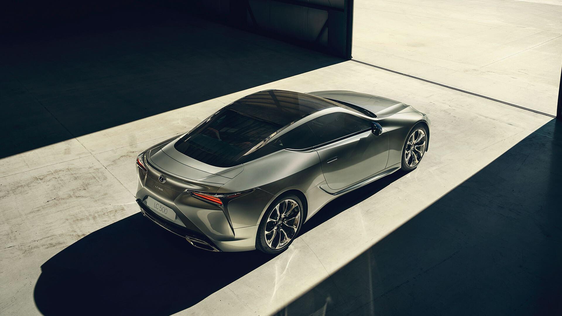 Lexus LC obere Ansicht
