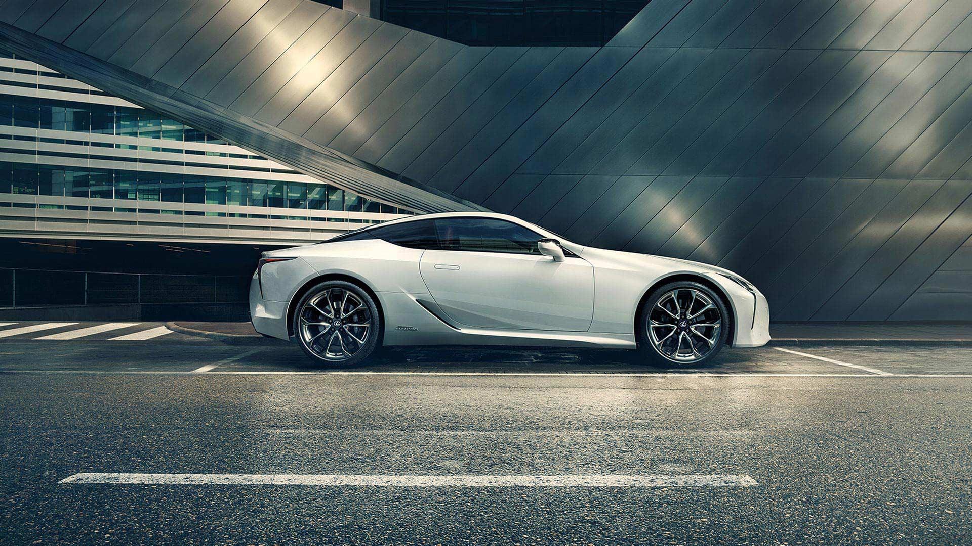 Lexus LC Seitenansicht