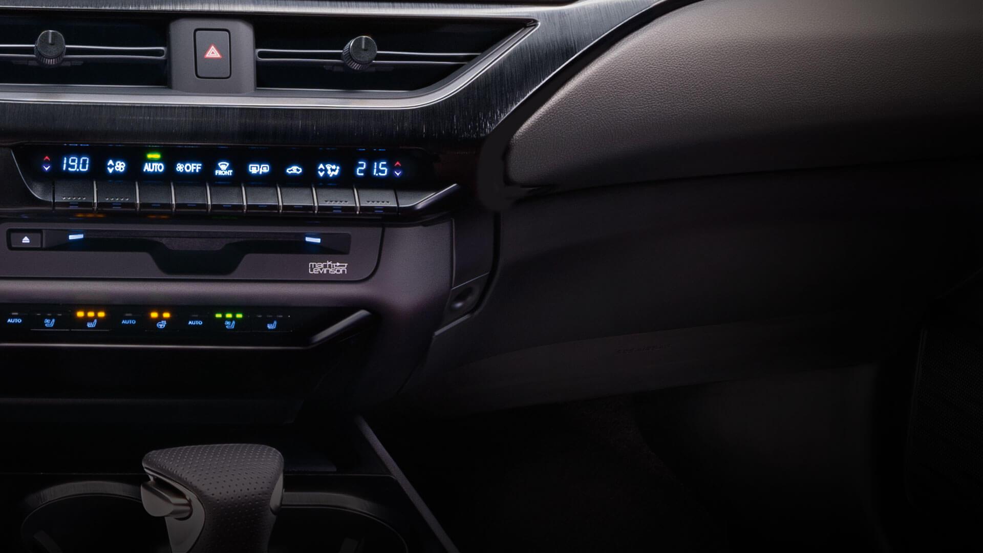 Lexus UX Klimaanlage