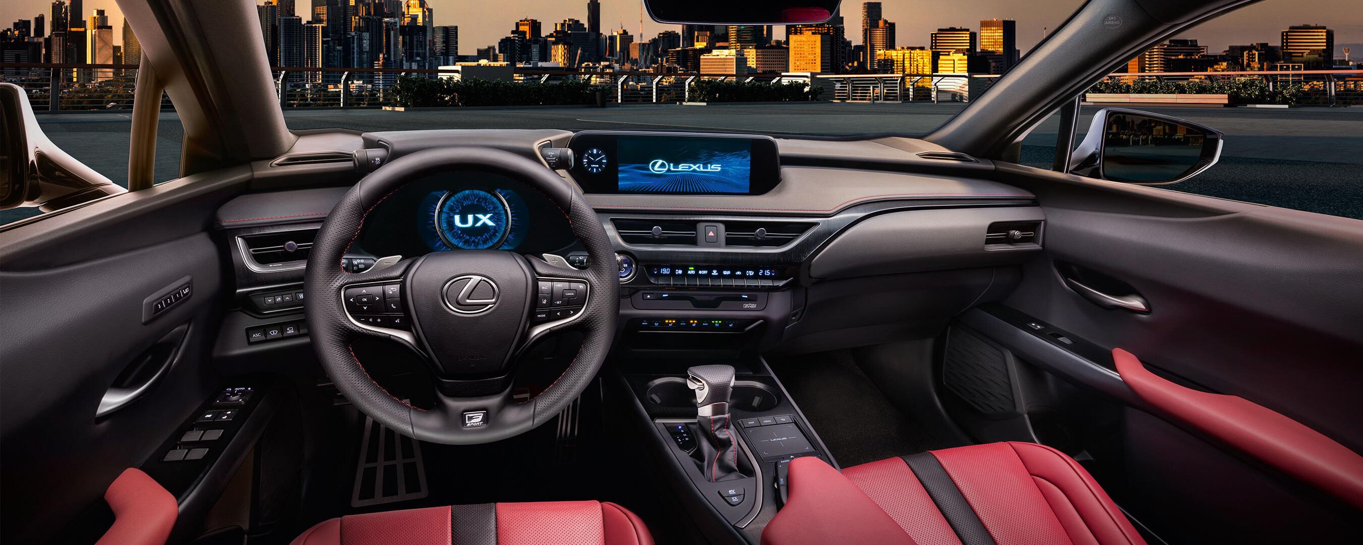 Lexus UX Interior vorne