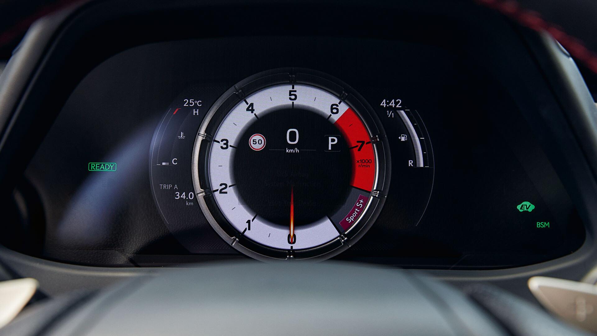 Lexus UX Cockpit