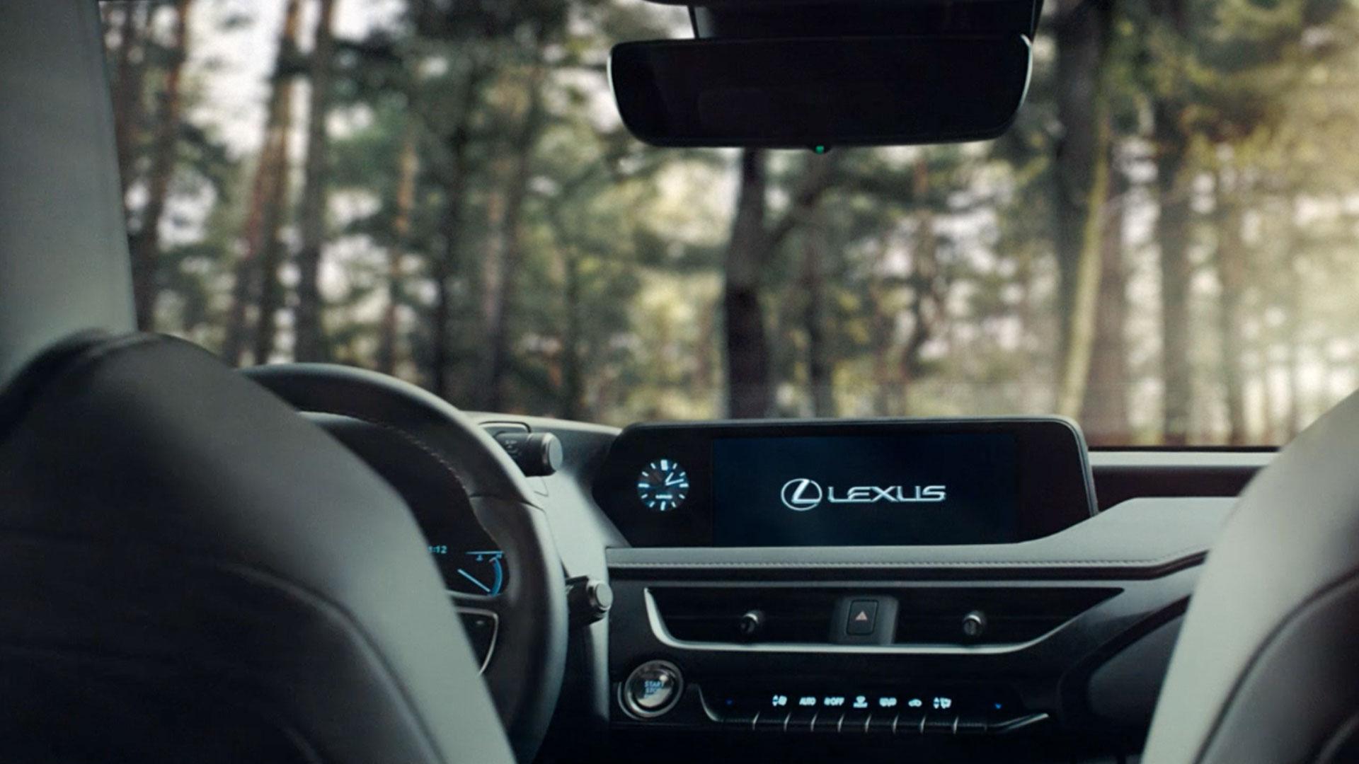 Lexus UX Interieur Navigationssystem