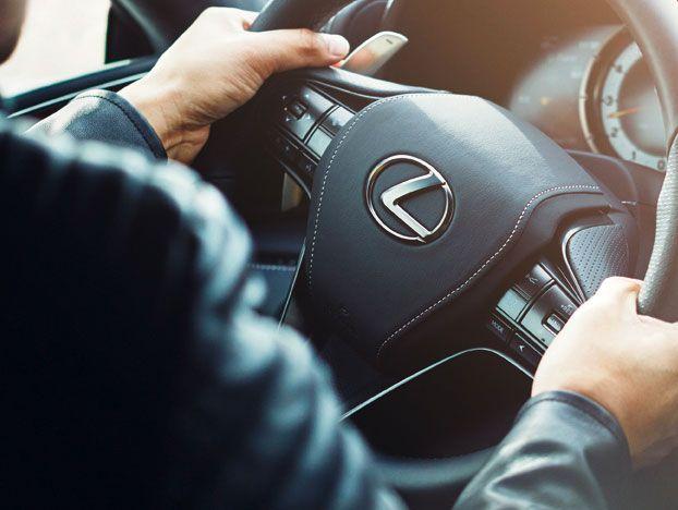 Lexus Hybrid Lenkrad