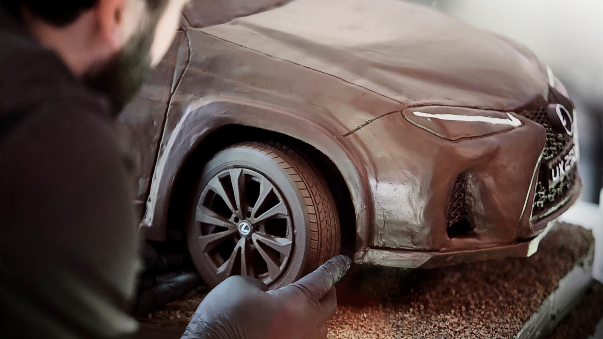 2019 lexus lounge UX Chocolate Car 1920x1080 12