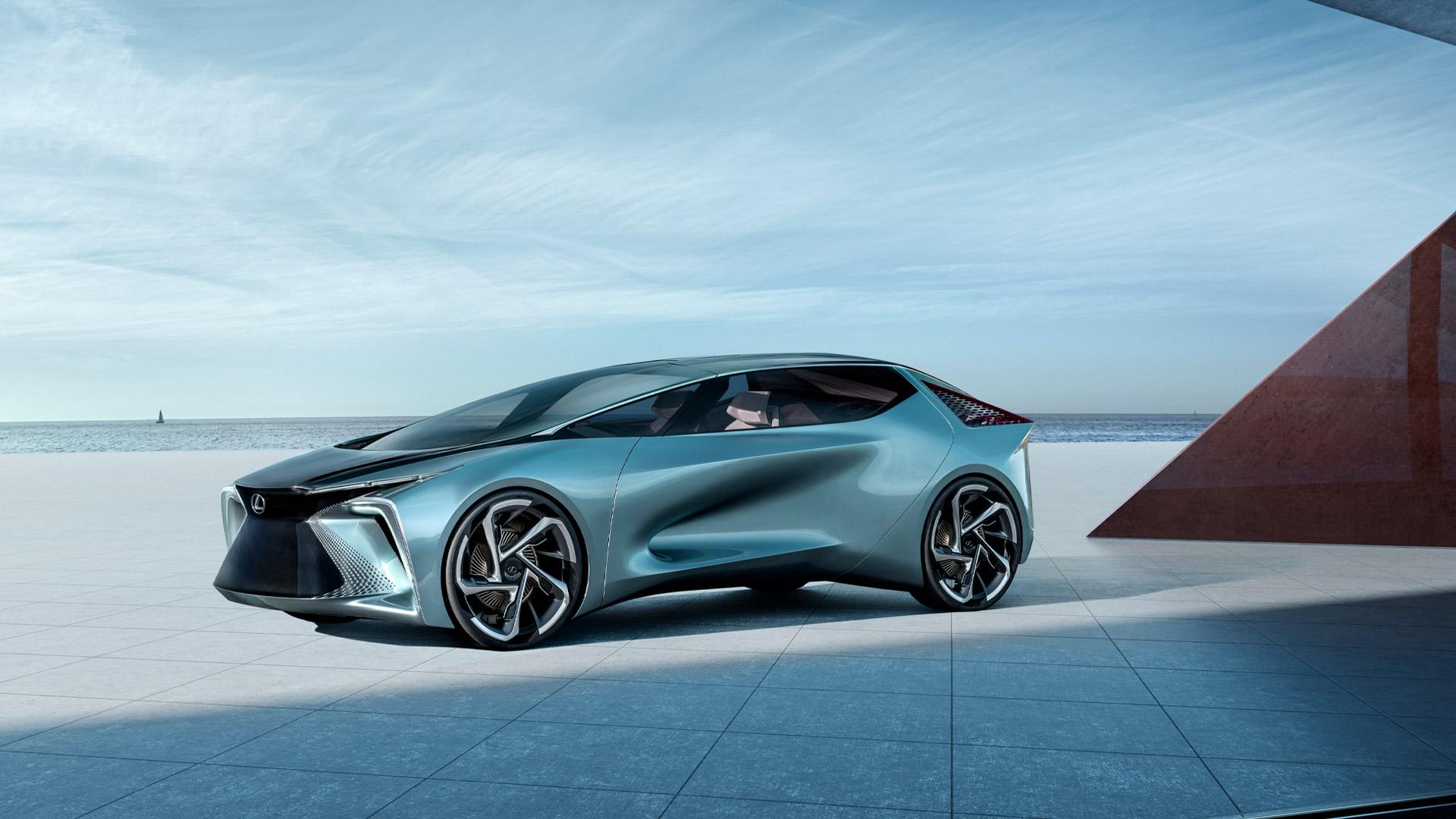 Lexus LF 30 Konzeptauto seitliche Ansicht