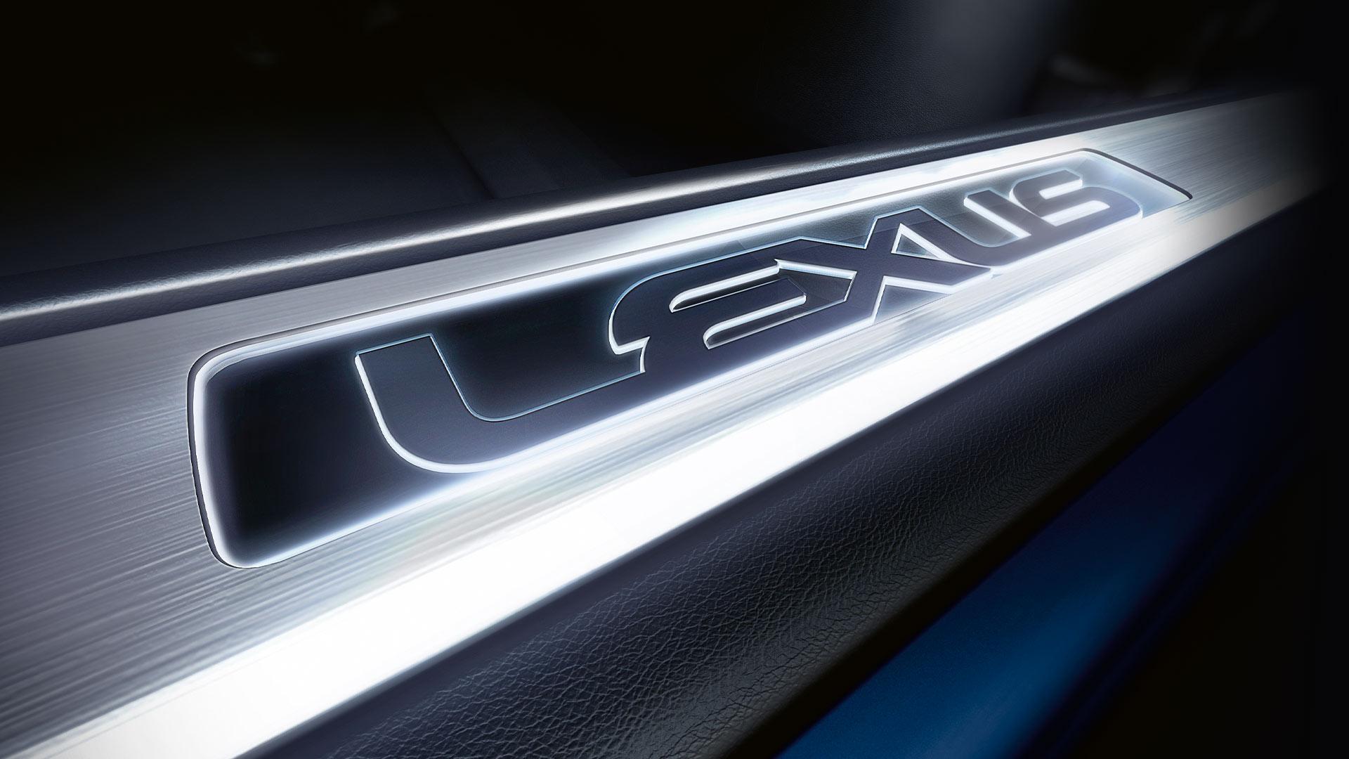 Lexus Logotype hero