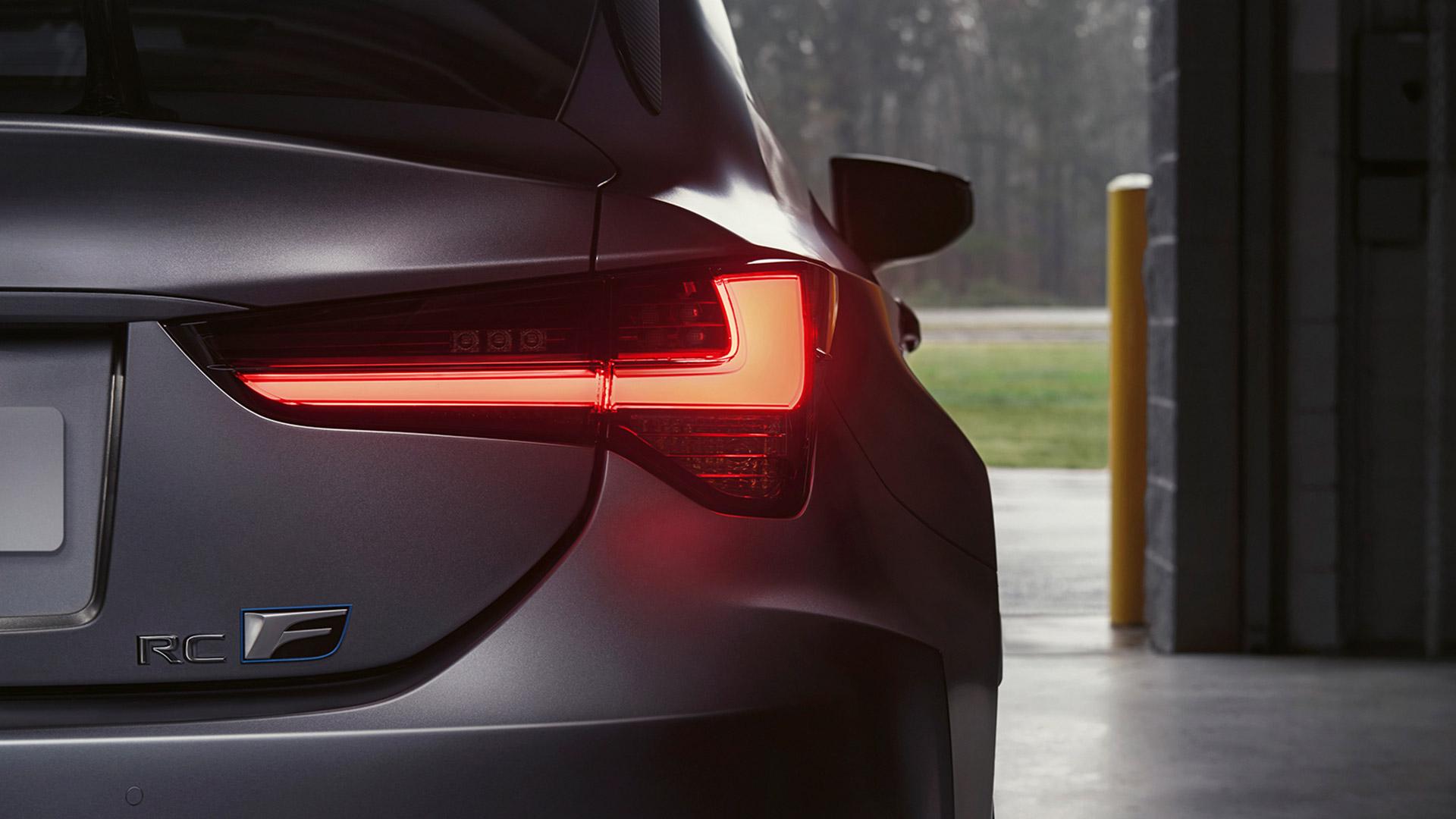 Lexus RC F Rücklicht