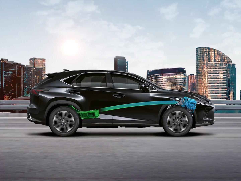 Lexus Hybrid Seitenansicht