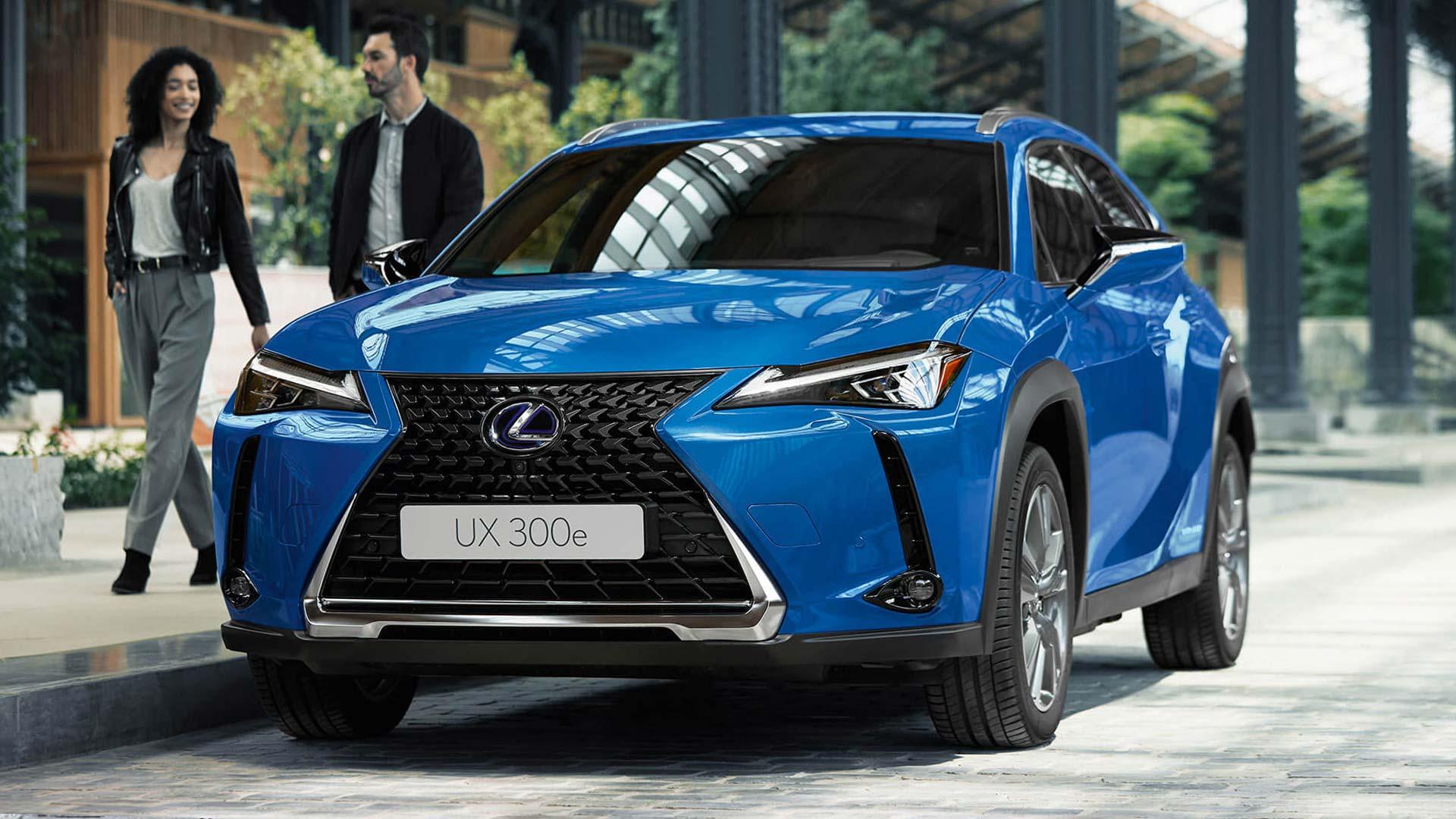 lexus ux 300e nextstep hero 2021