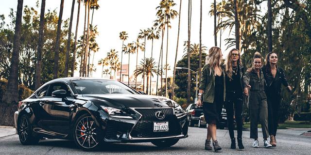 Lexus goes LA Image