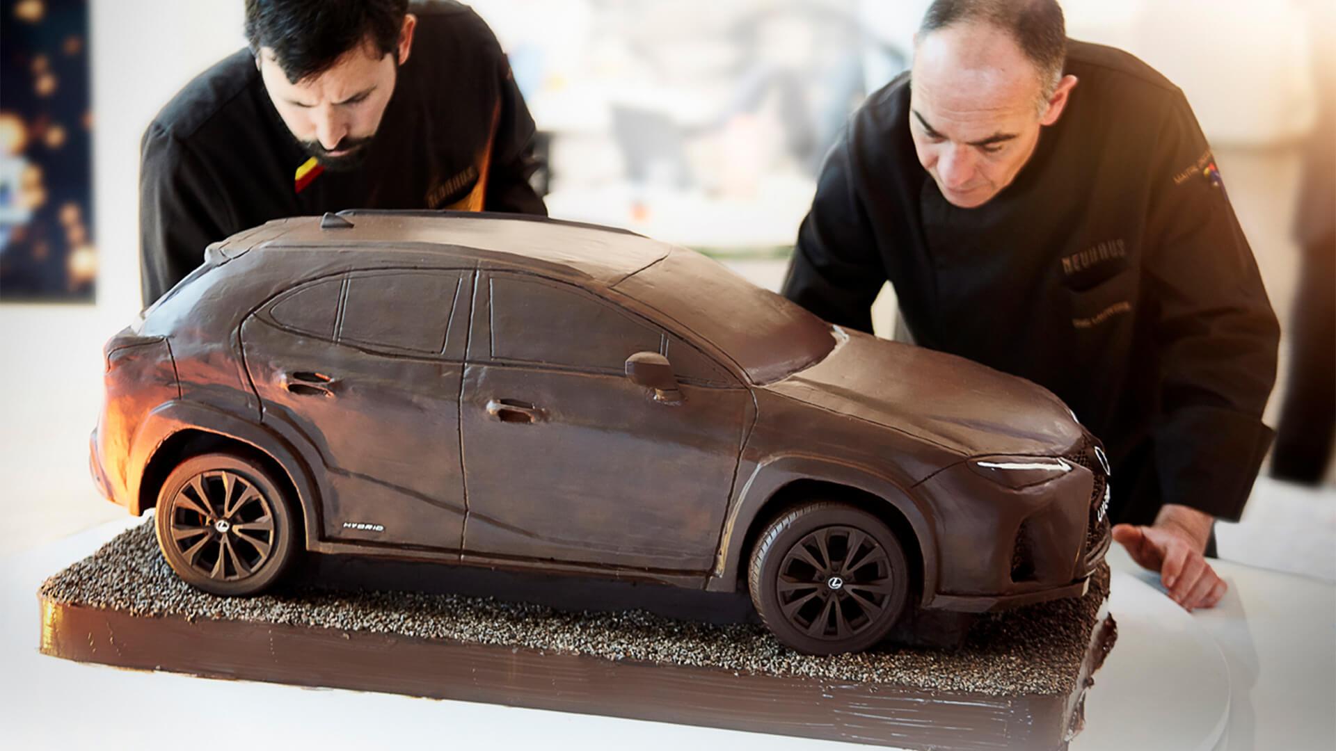 2019 lexus lounge UX Chocolate Car 1920x1080 09