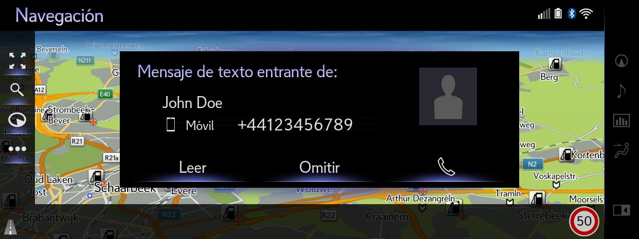06 Full Screen SMS