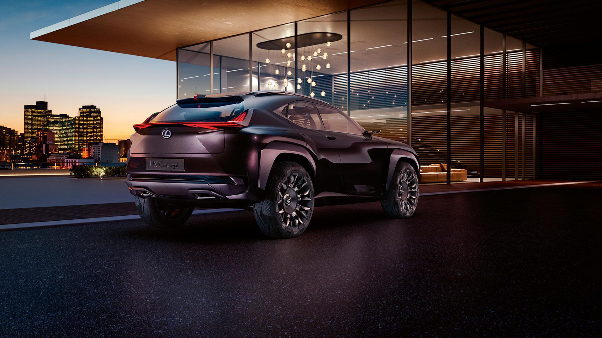 Lexus UX Concep hero asset