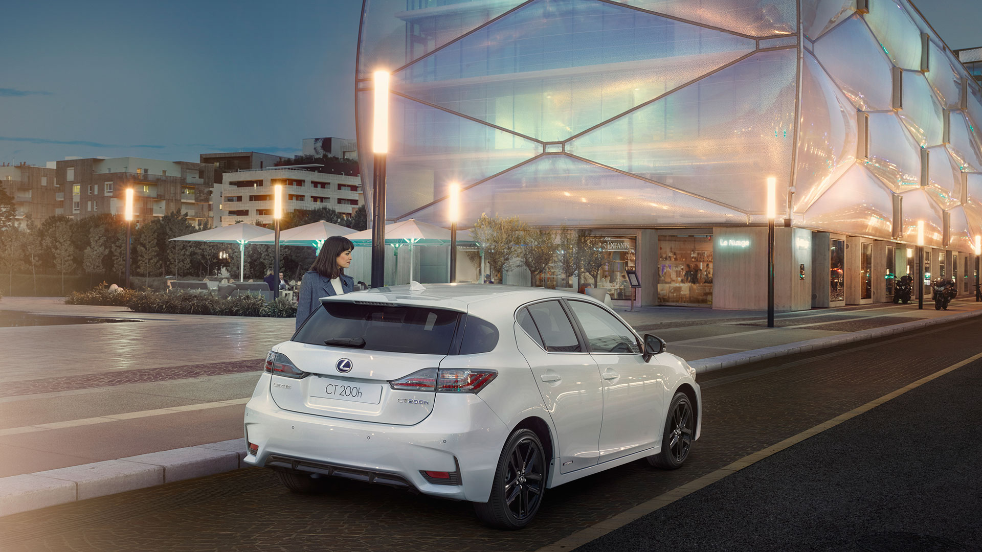 Lexus CT 200h Inteligencia Full Hybrids hero asset