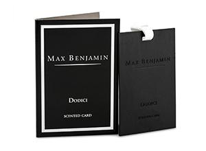 ambientador tarjeta dodici max benjamin