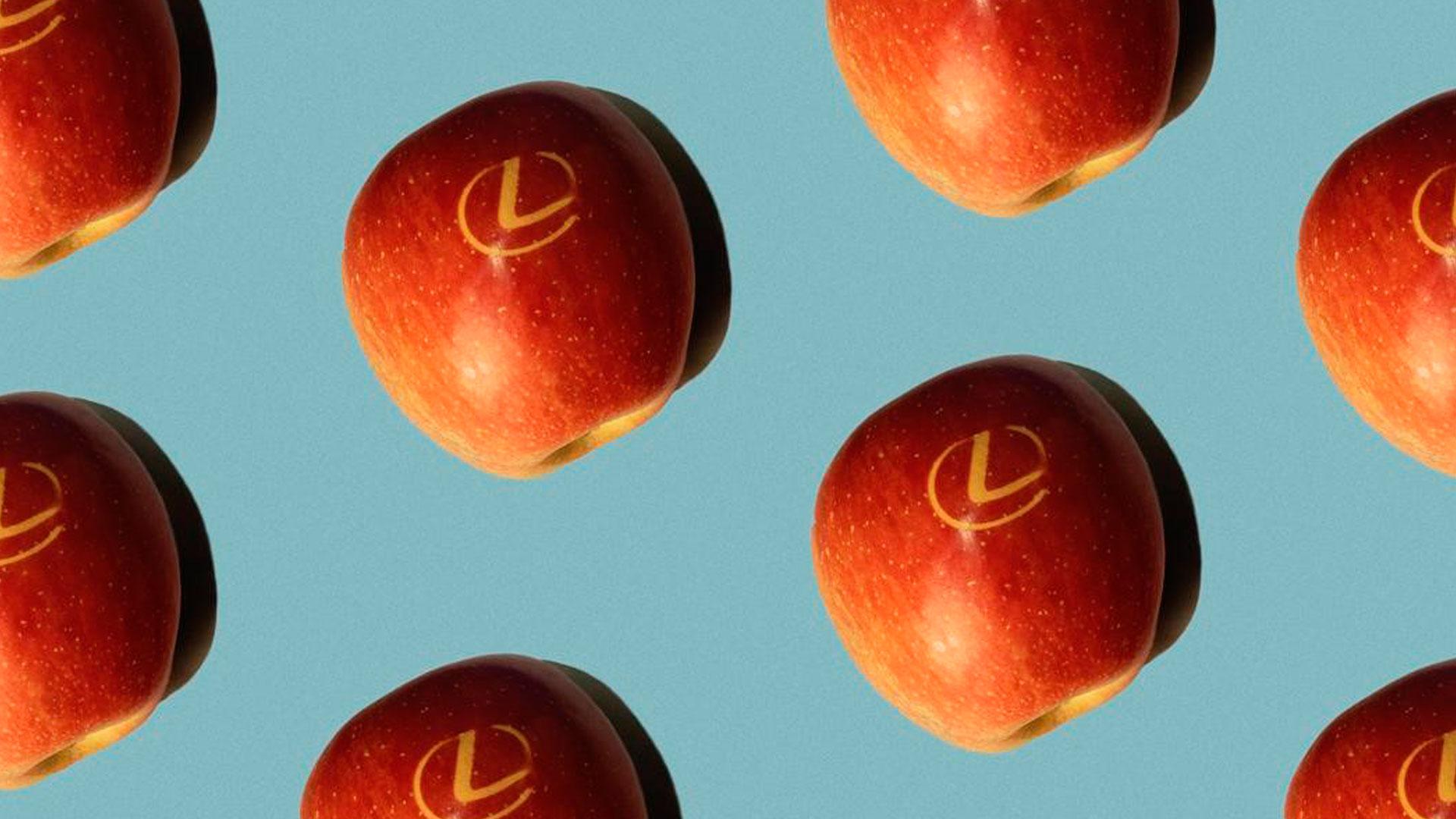 Imagen de las manzanas de Lexus