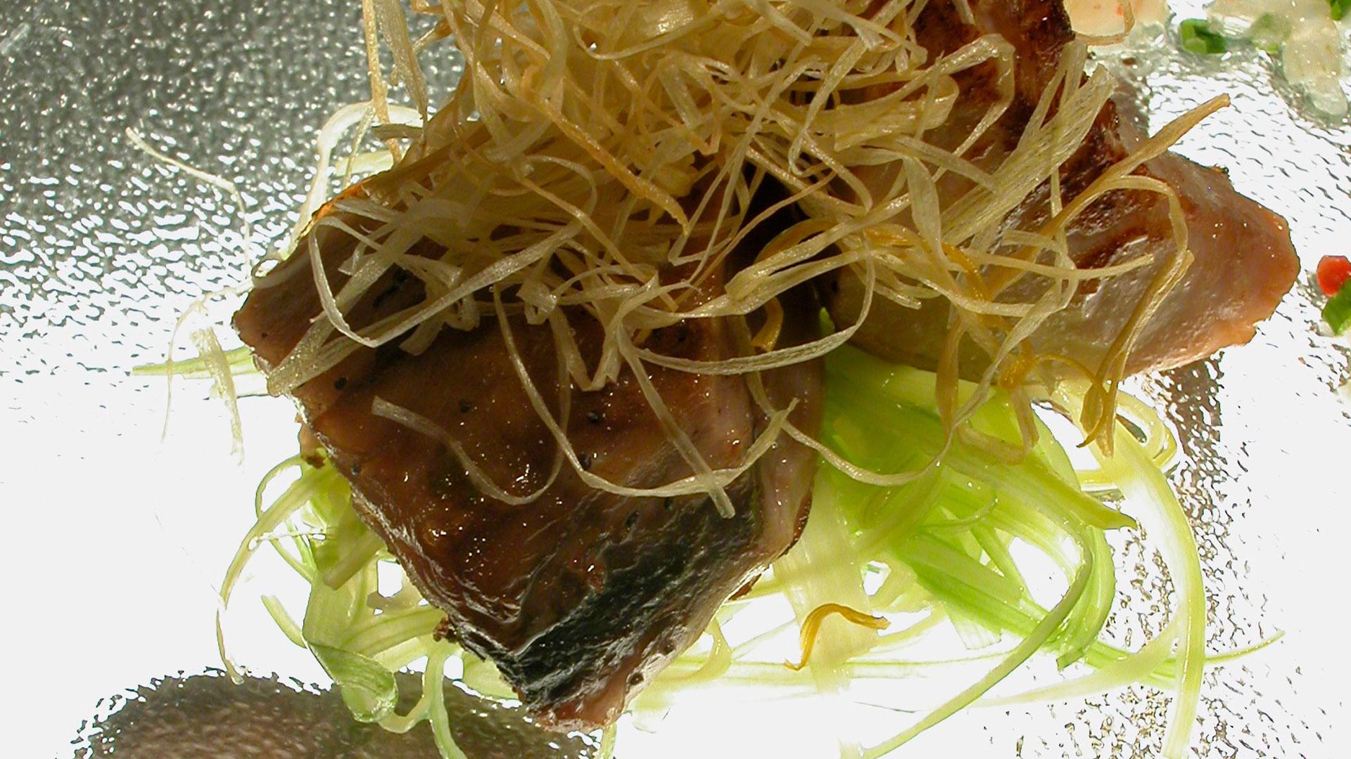 Imagen de una receta de atún