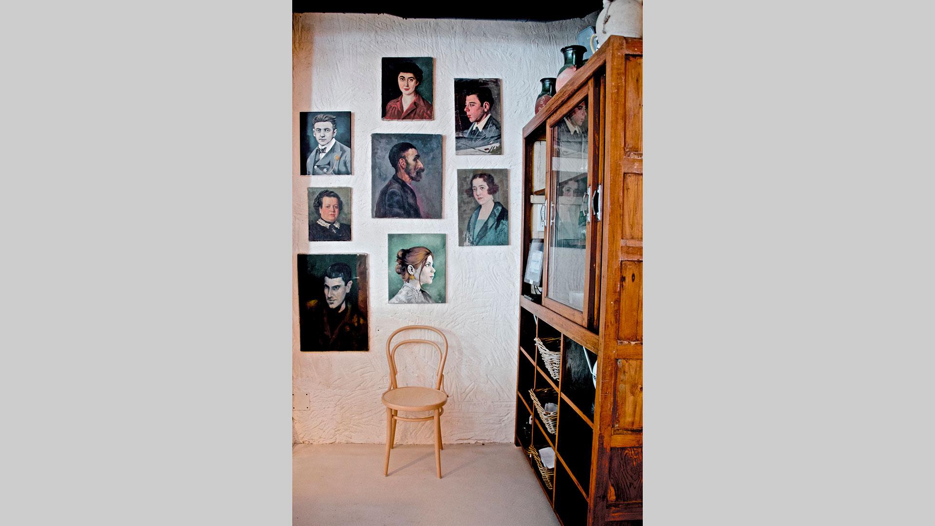 Interior de la nueva tasca Casa Galleta