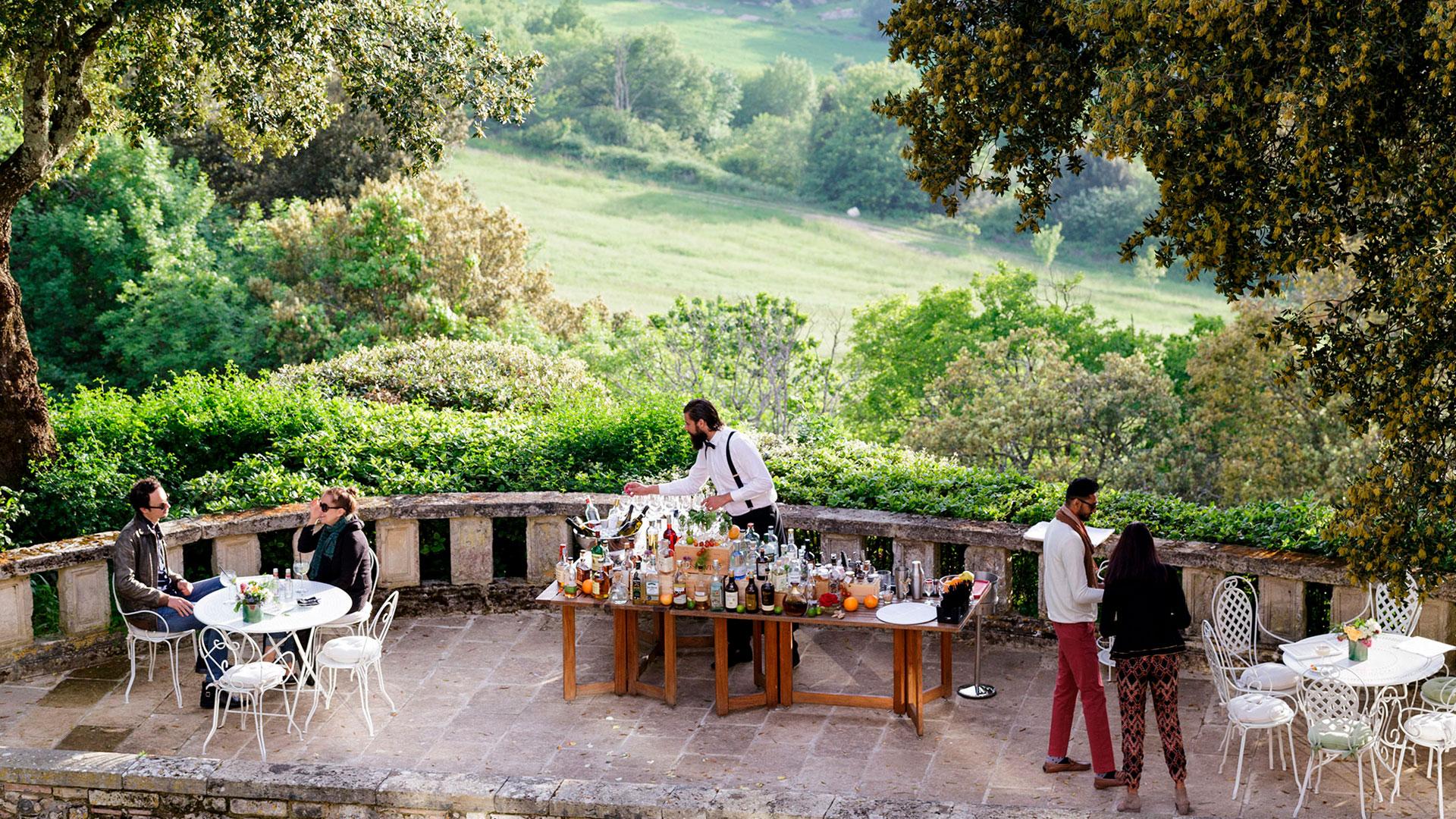 Imagen del hotel Borgo Pignano en la Toscana