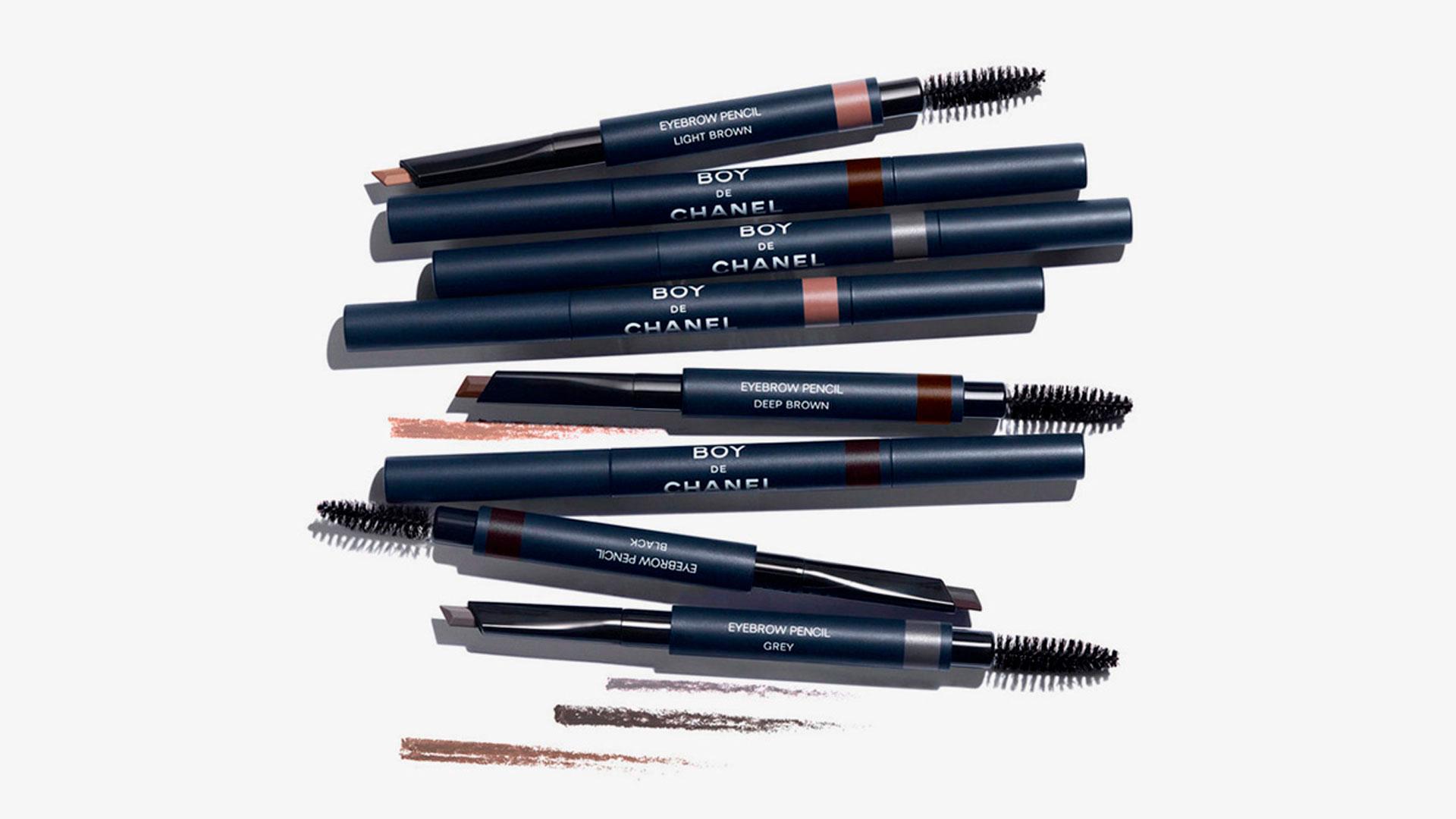 Productos de la nueva línea de maquillaje masculina de Chanel