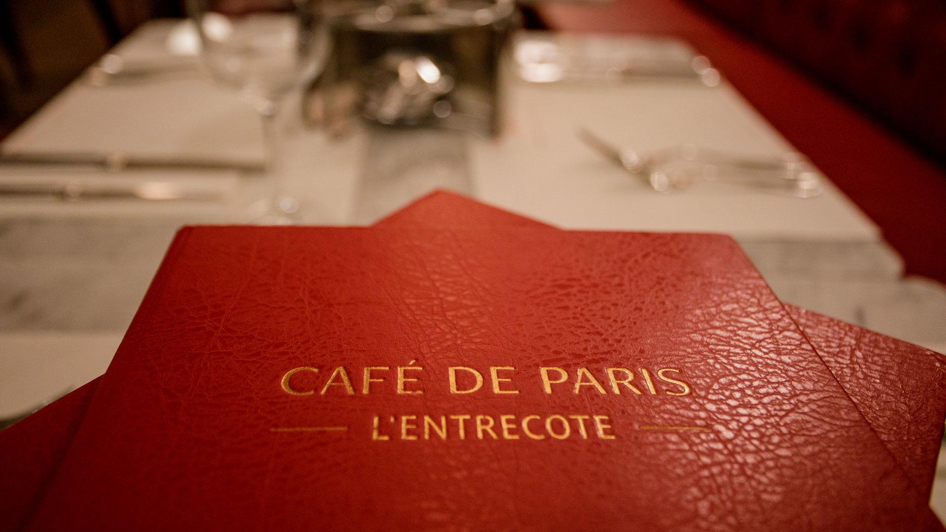 Imagen del restaurante Café de París en Madrid