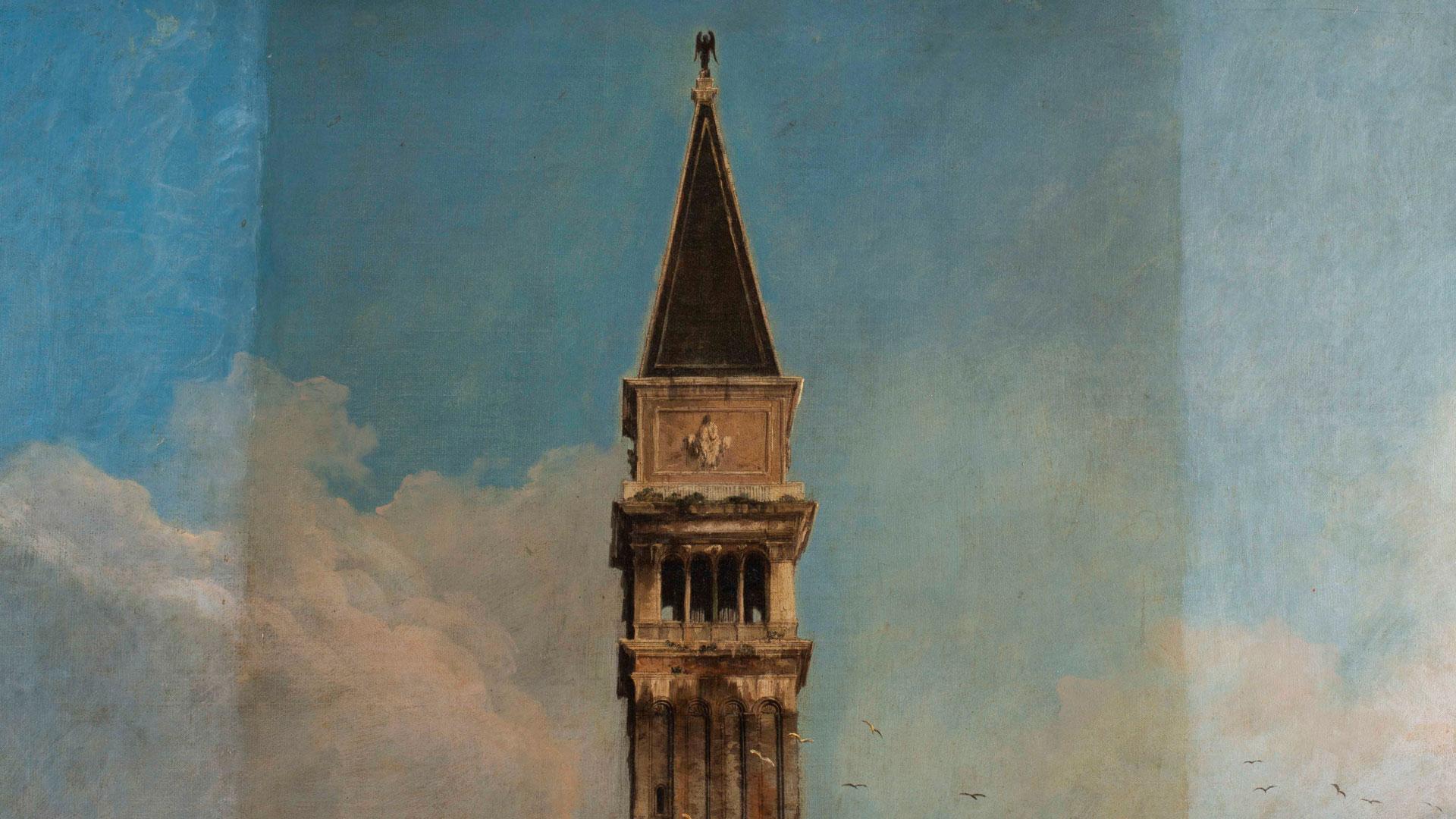 Pintura de la plaza de San Marcos de Canaletto