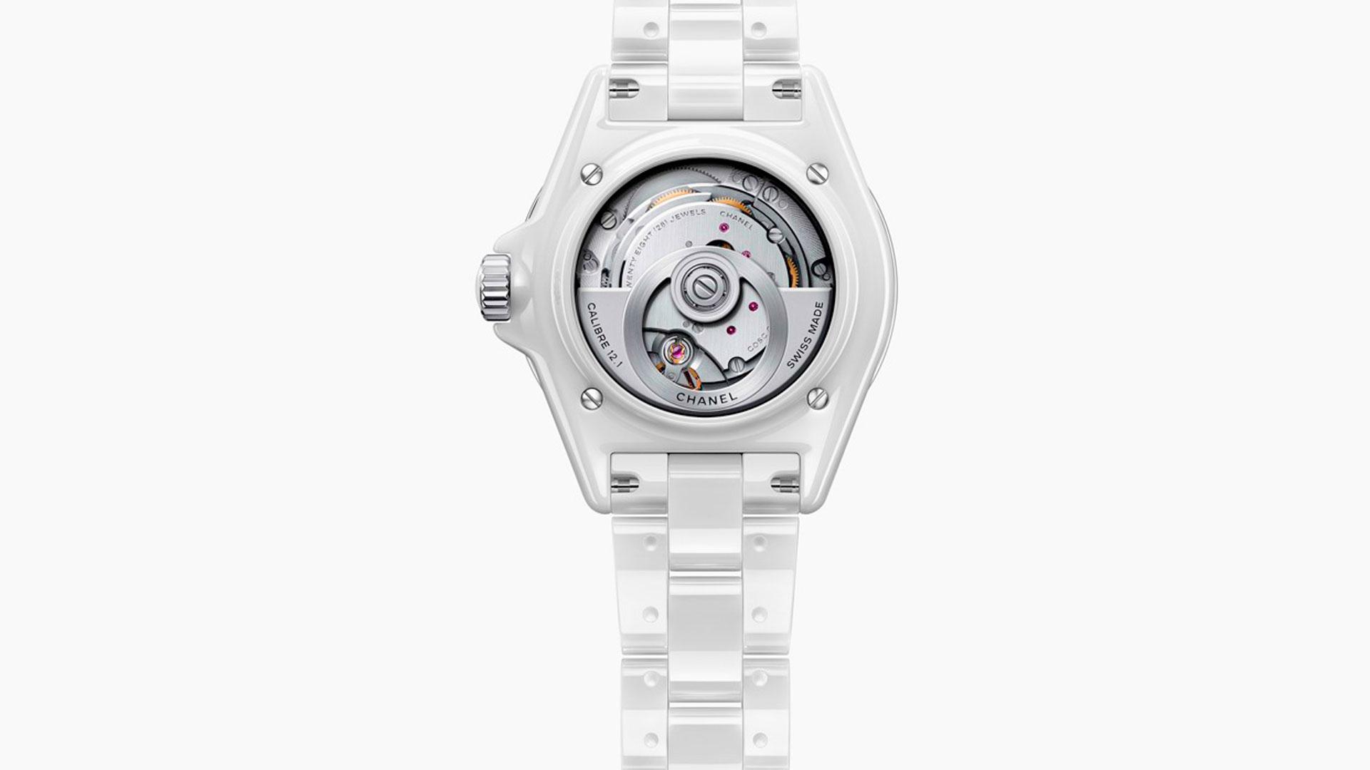 Imagen del nuevo reloj J12 de Chanel