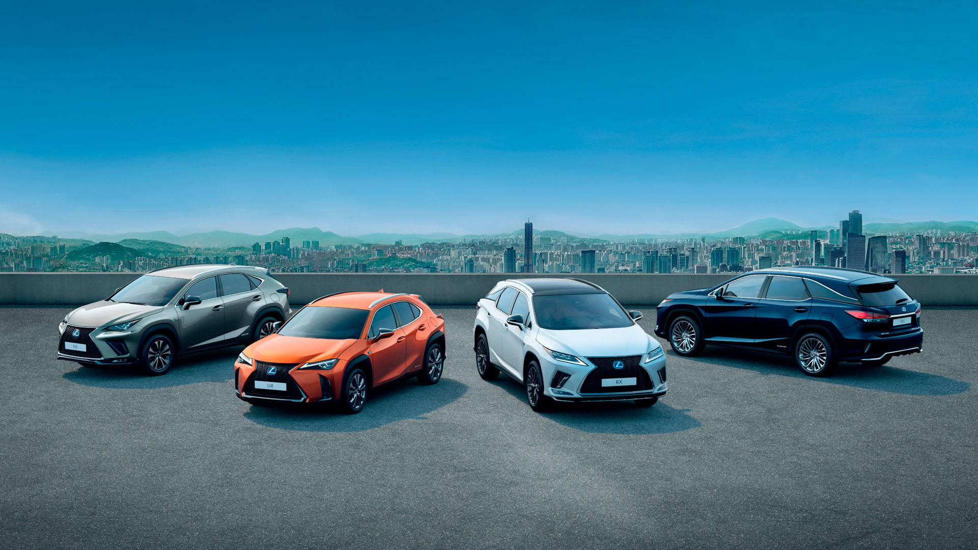 Imagen de la gama de suv Lexus