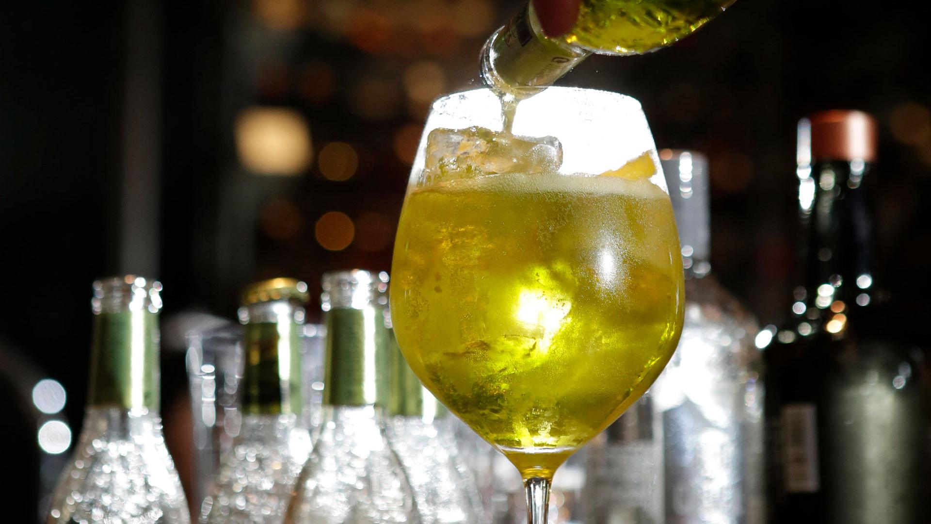 Imagen del bartender Diego Cabrera
