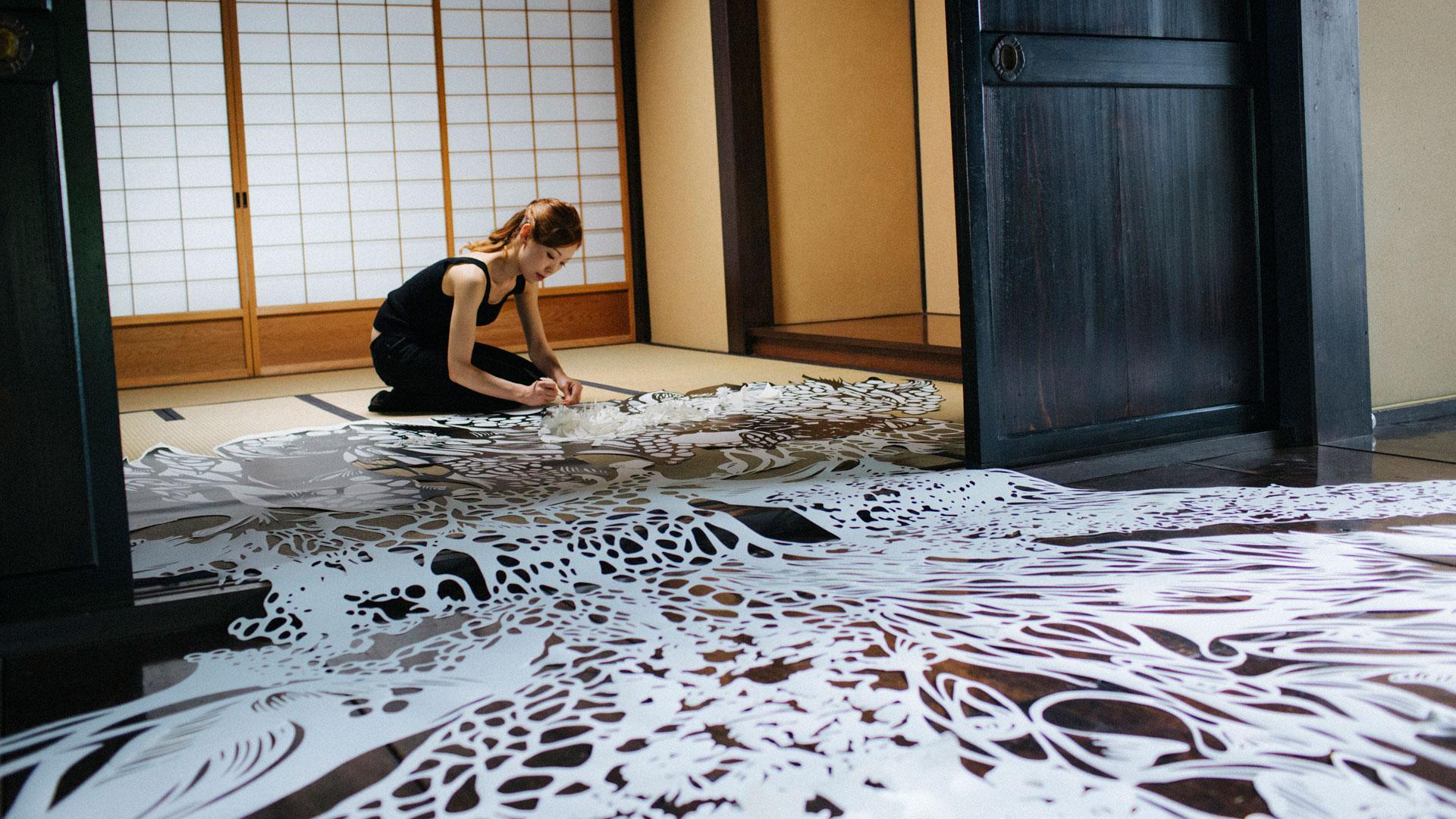 Imagen del documental Takumi producido por Lexus