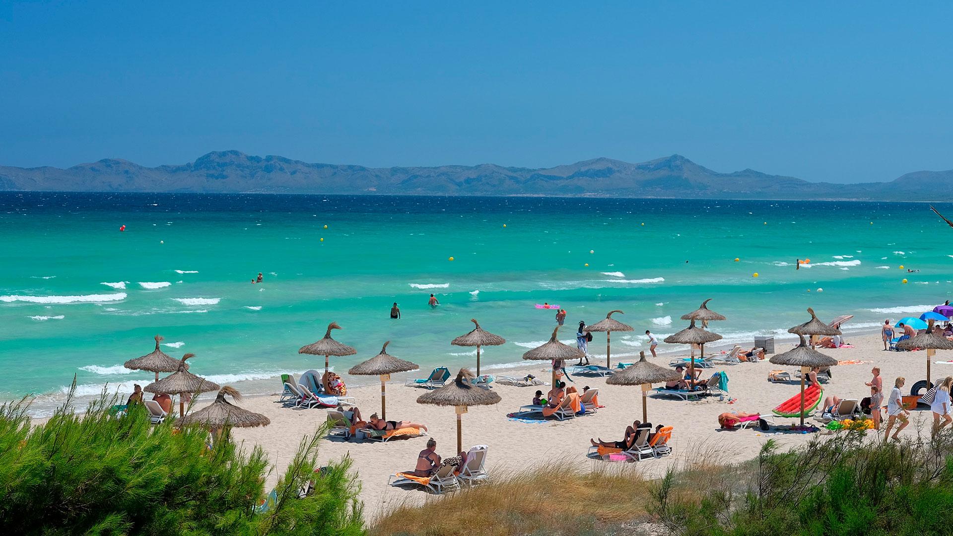 Imagen de playa de muro