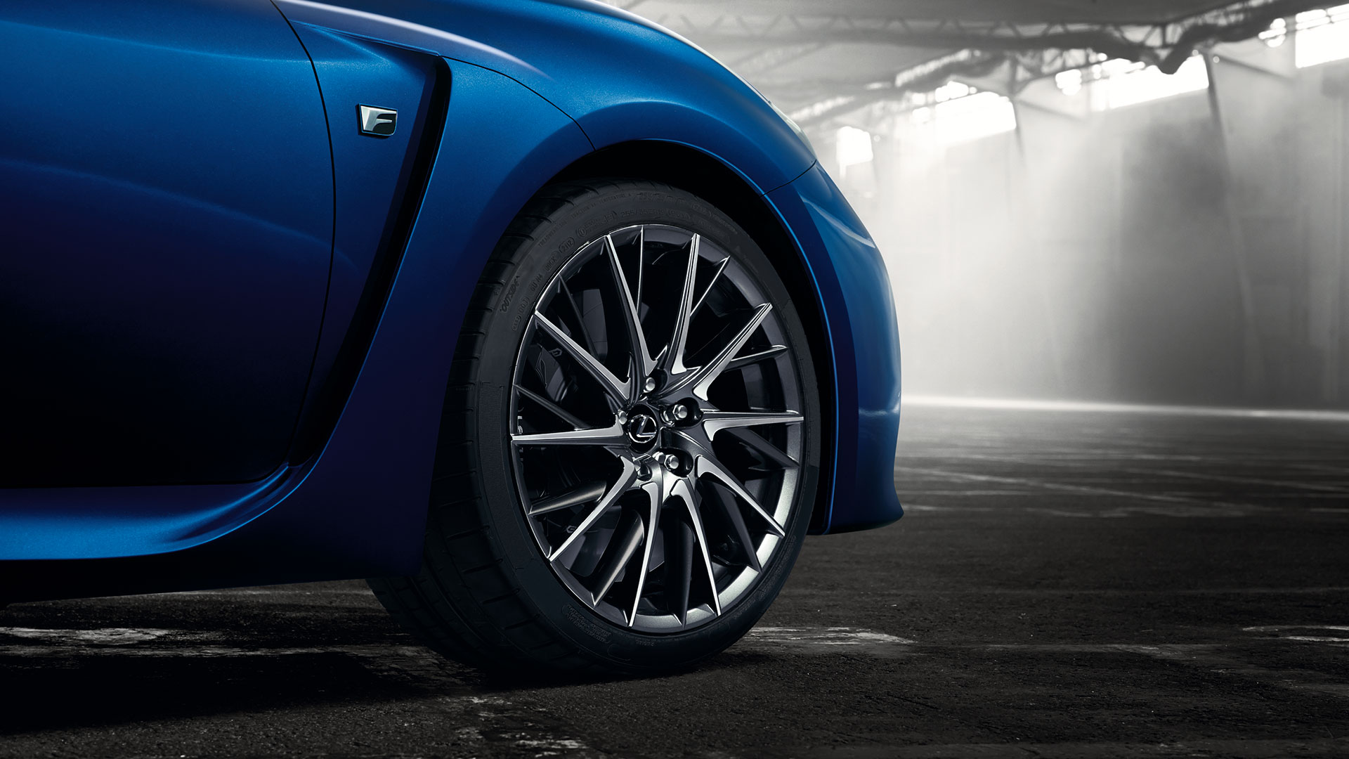 Lexus F Detroit hero asset