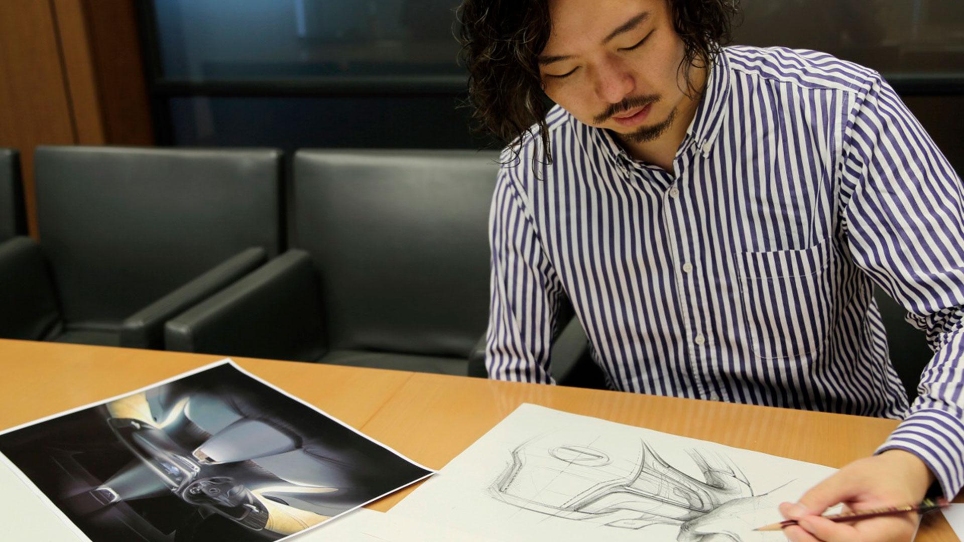 Imagen del diseñador de Lexus Keitarou Hinoue
