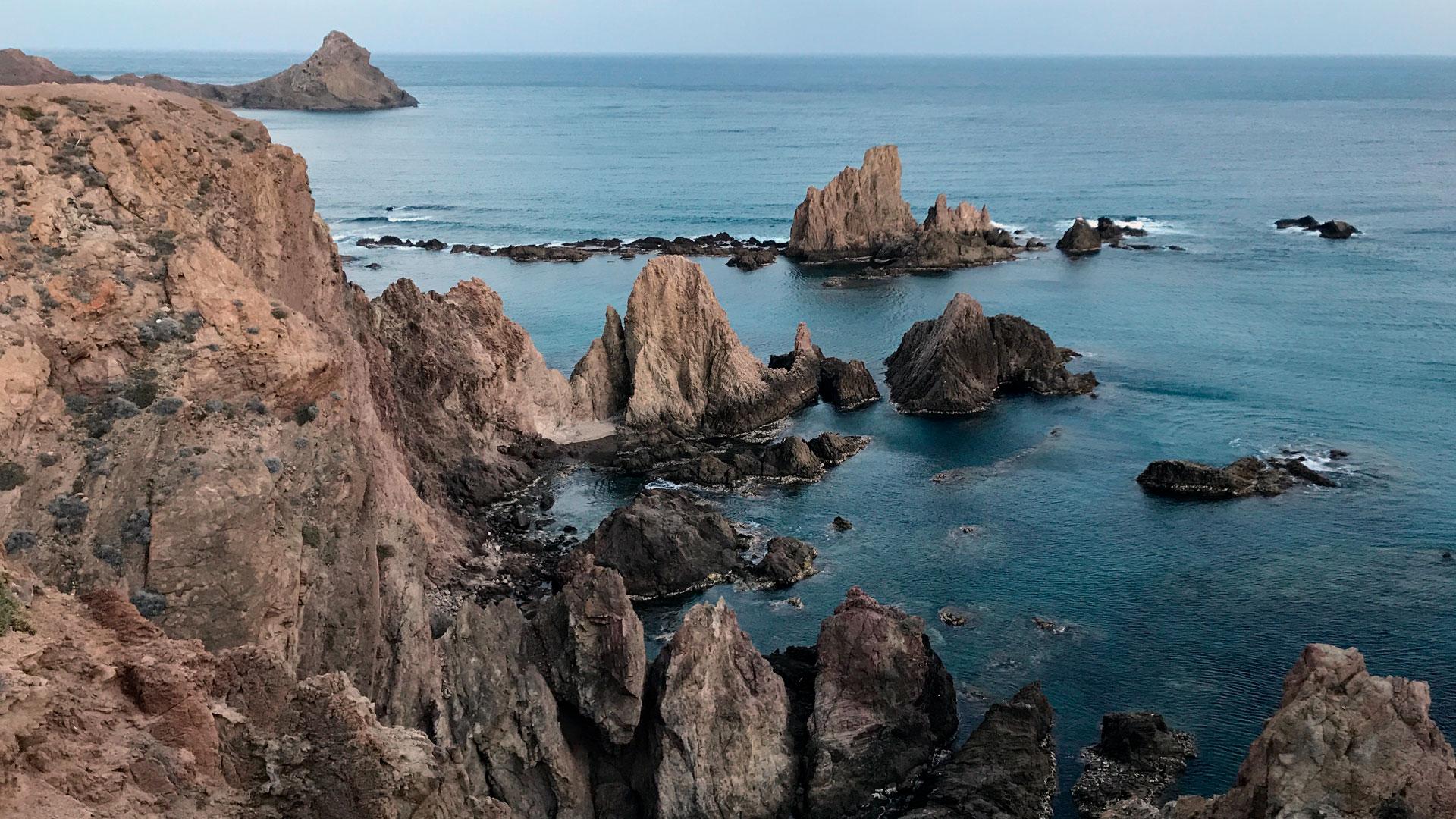 Imagen del Cabo de Gata en Almería