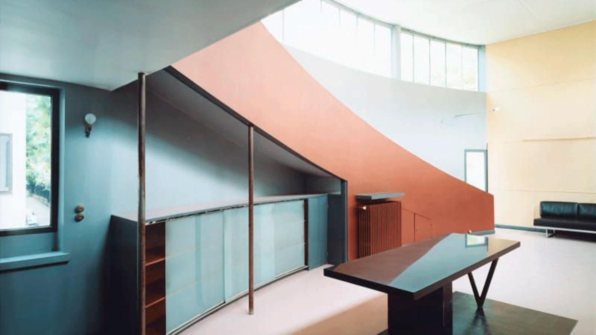 Fotografía de Guido Guidi de la exposición Le Corbusier – 5 Architectures