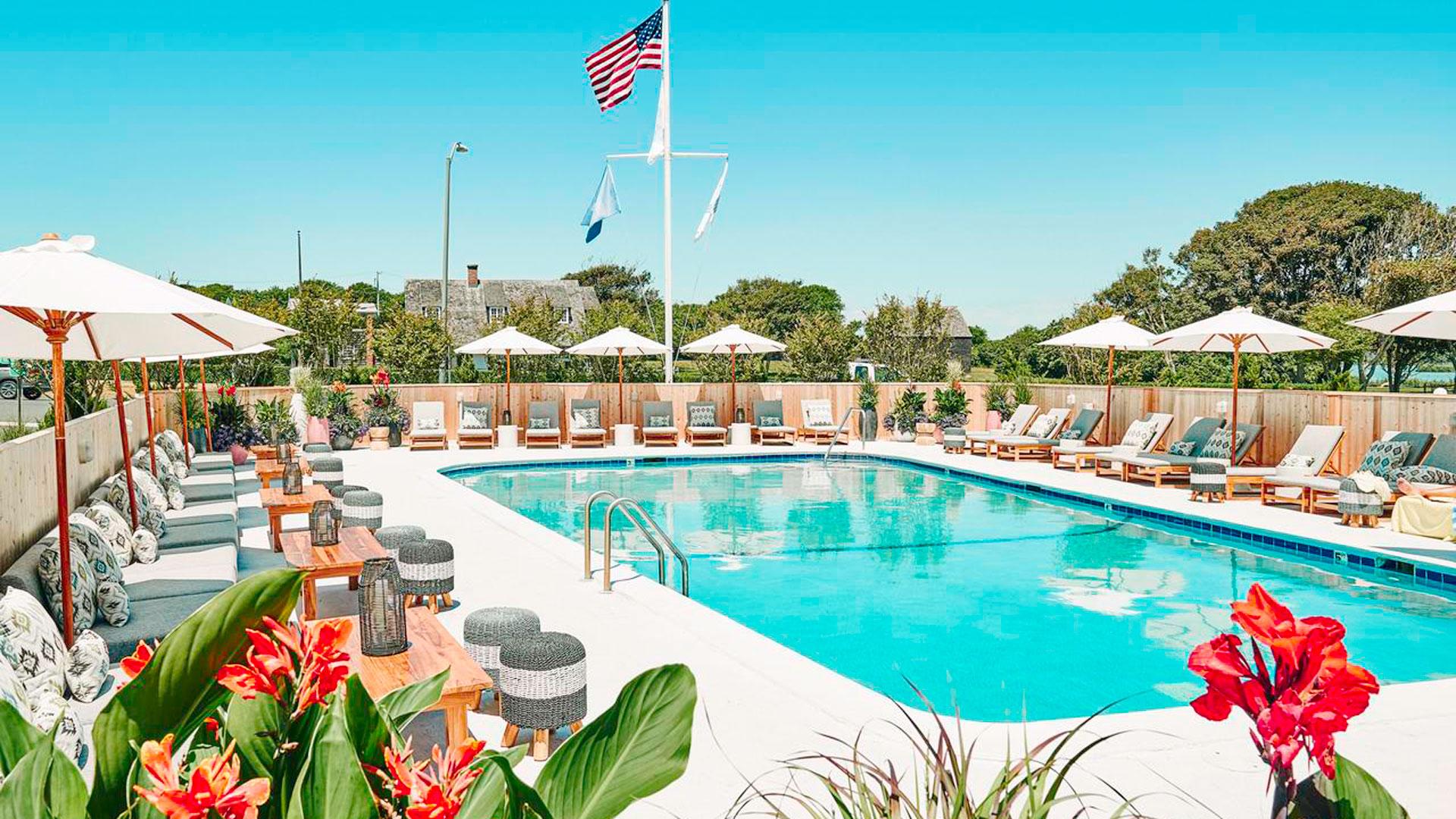 Imagen del Hero Beach Club en los Hamptons
