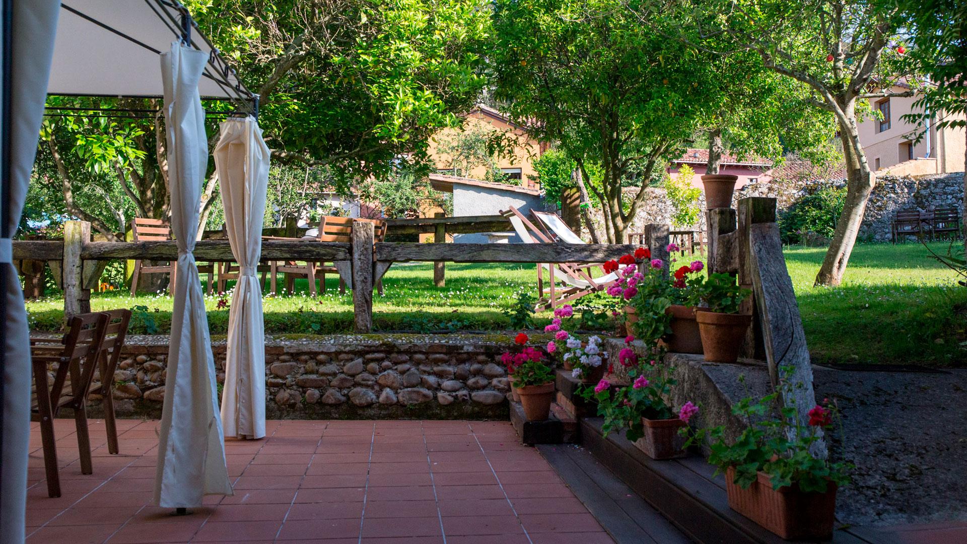 Imagen del hotel La Fonte en Asturias