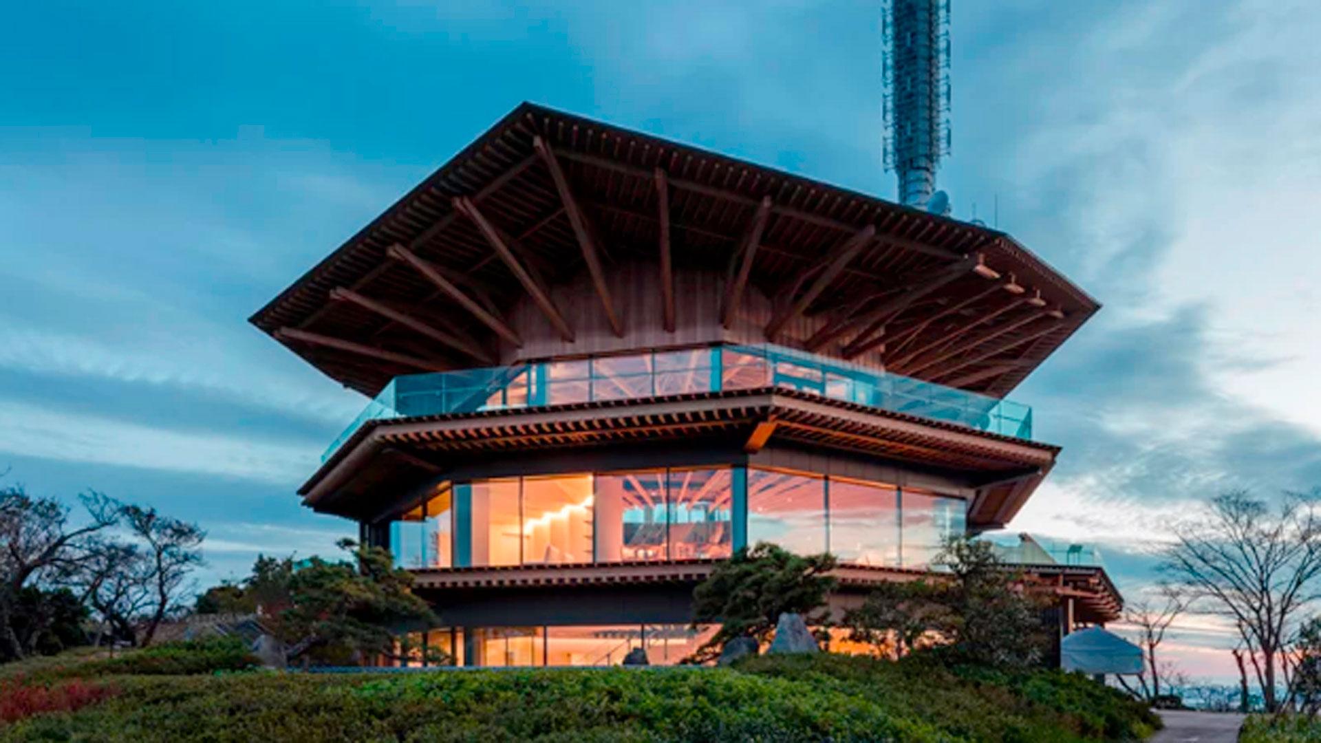 Imágenes del observatorio proyectado por Kengo Kuma Associates