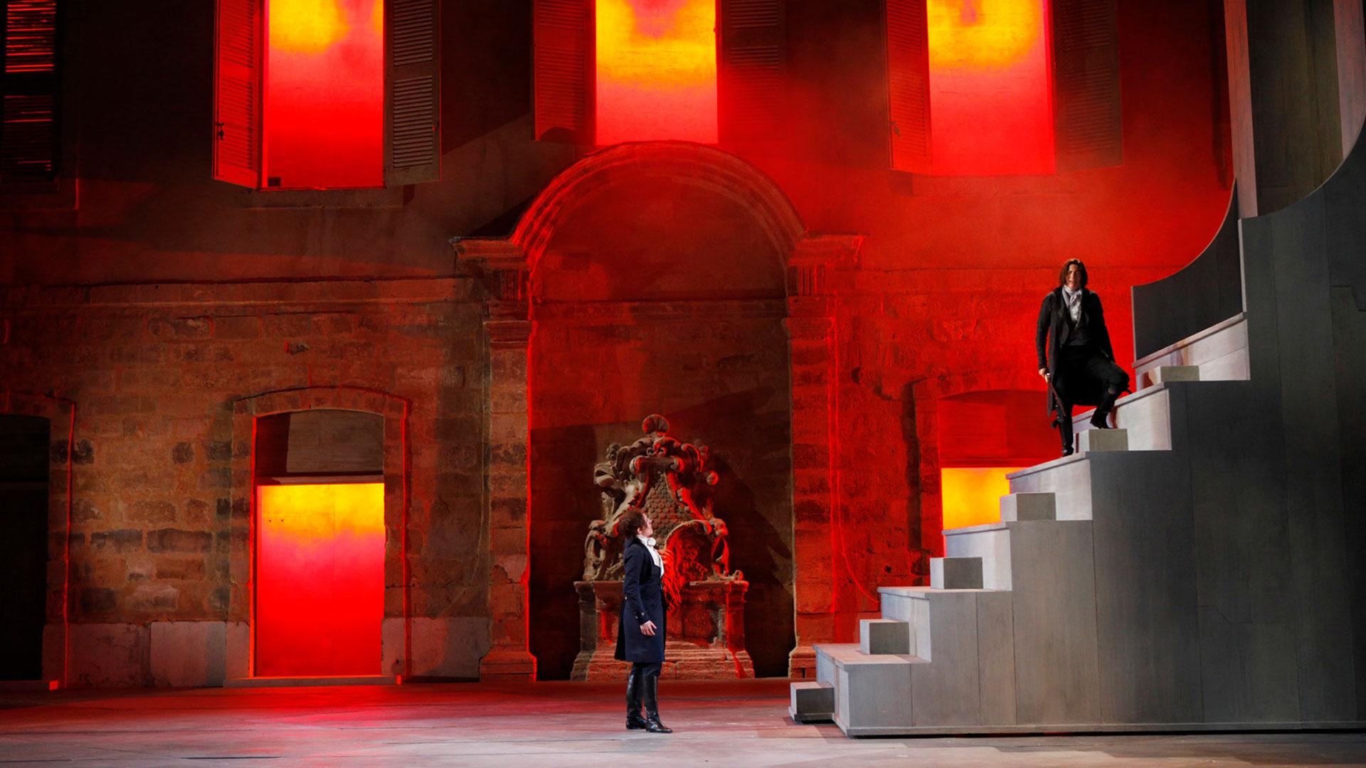 Imagen de la ópera La clemenza di Tito