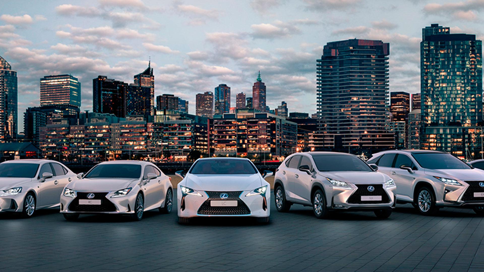Lexus debuta en india hero asset