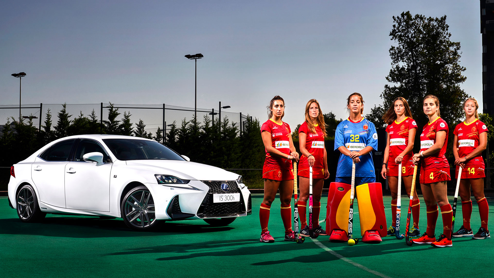 Lexus patrocinador de la RFEH hero asset