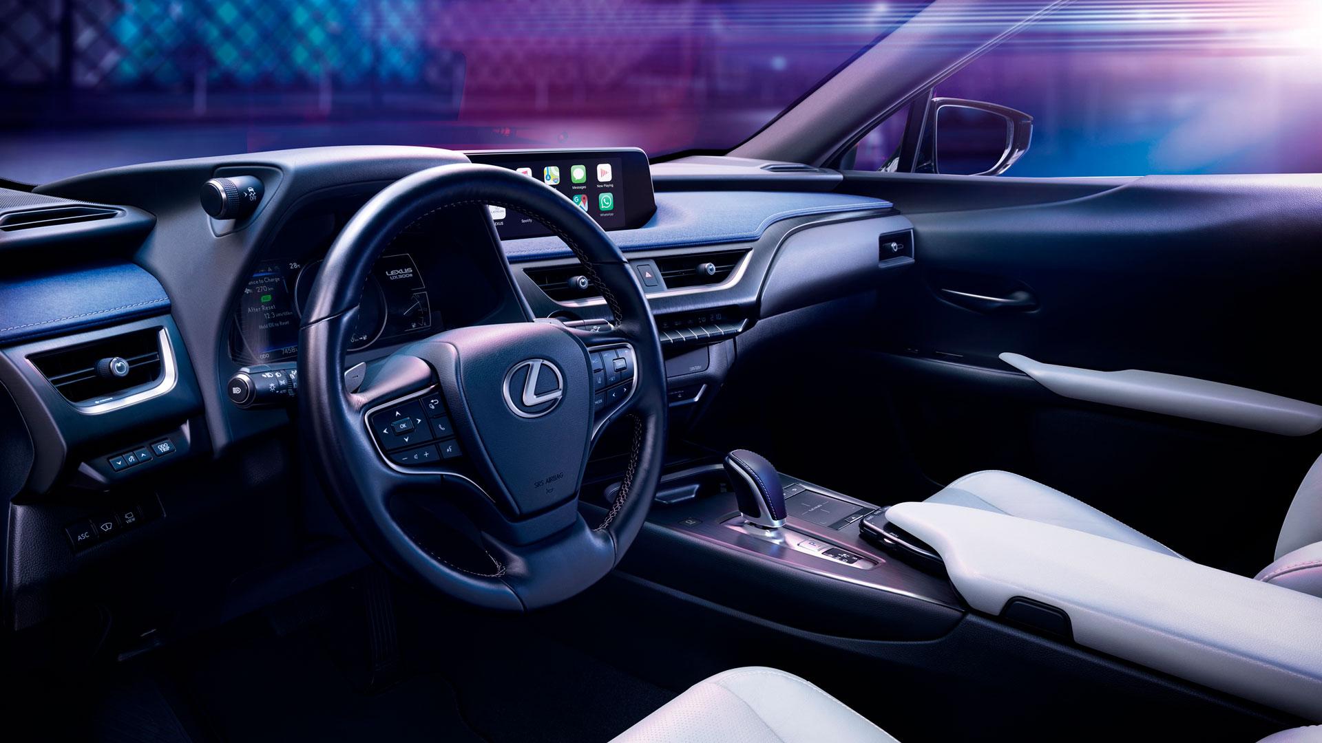 Imagen del Lexus UX 300e