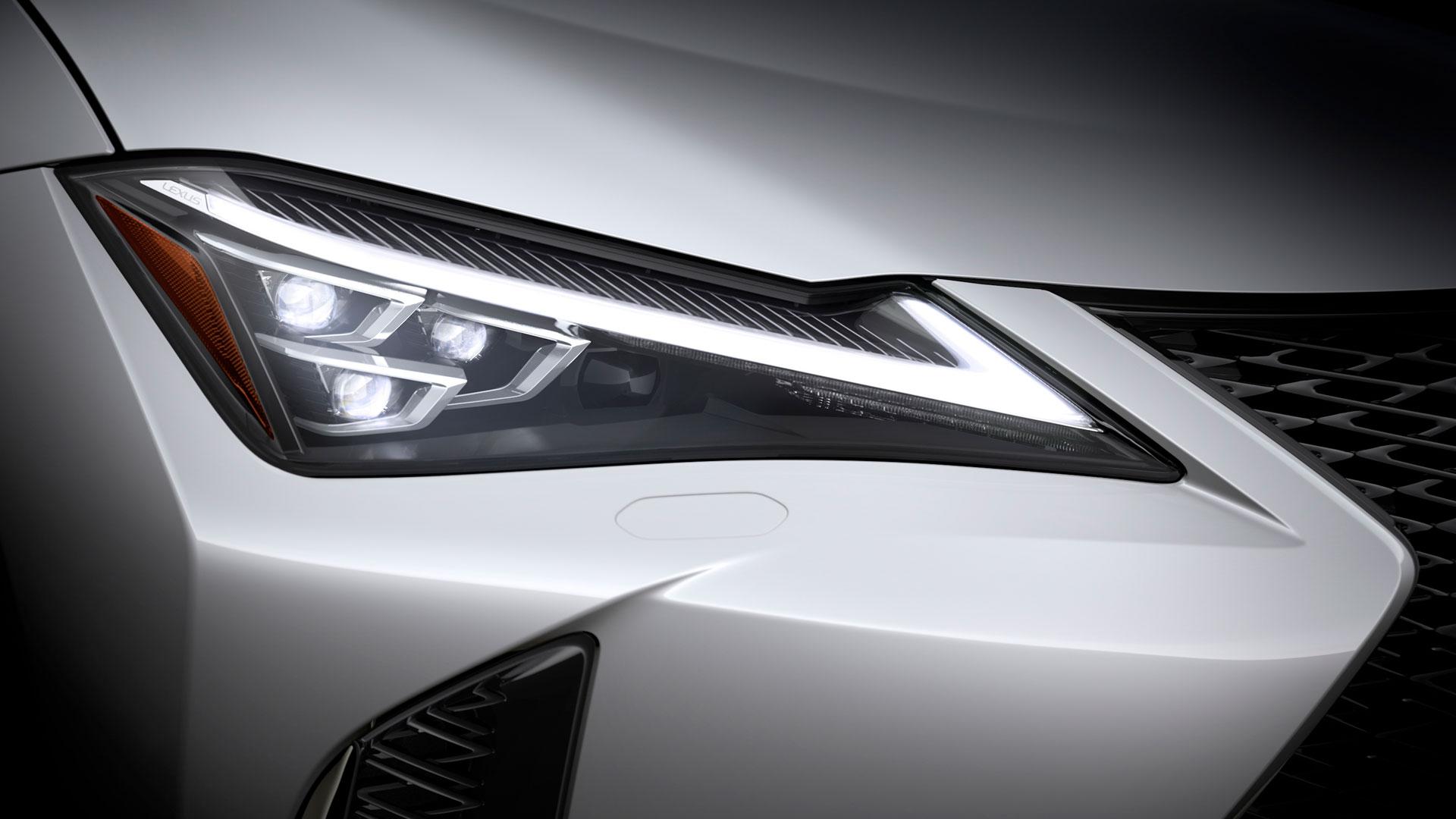 Imagen perteneciente al proceso de diseño del Lexus UX